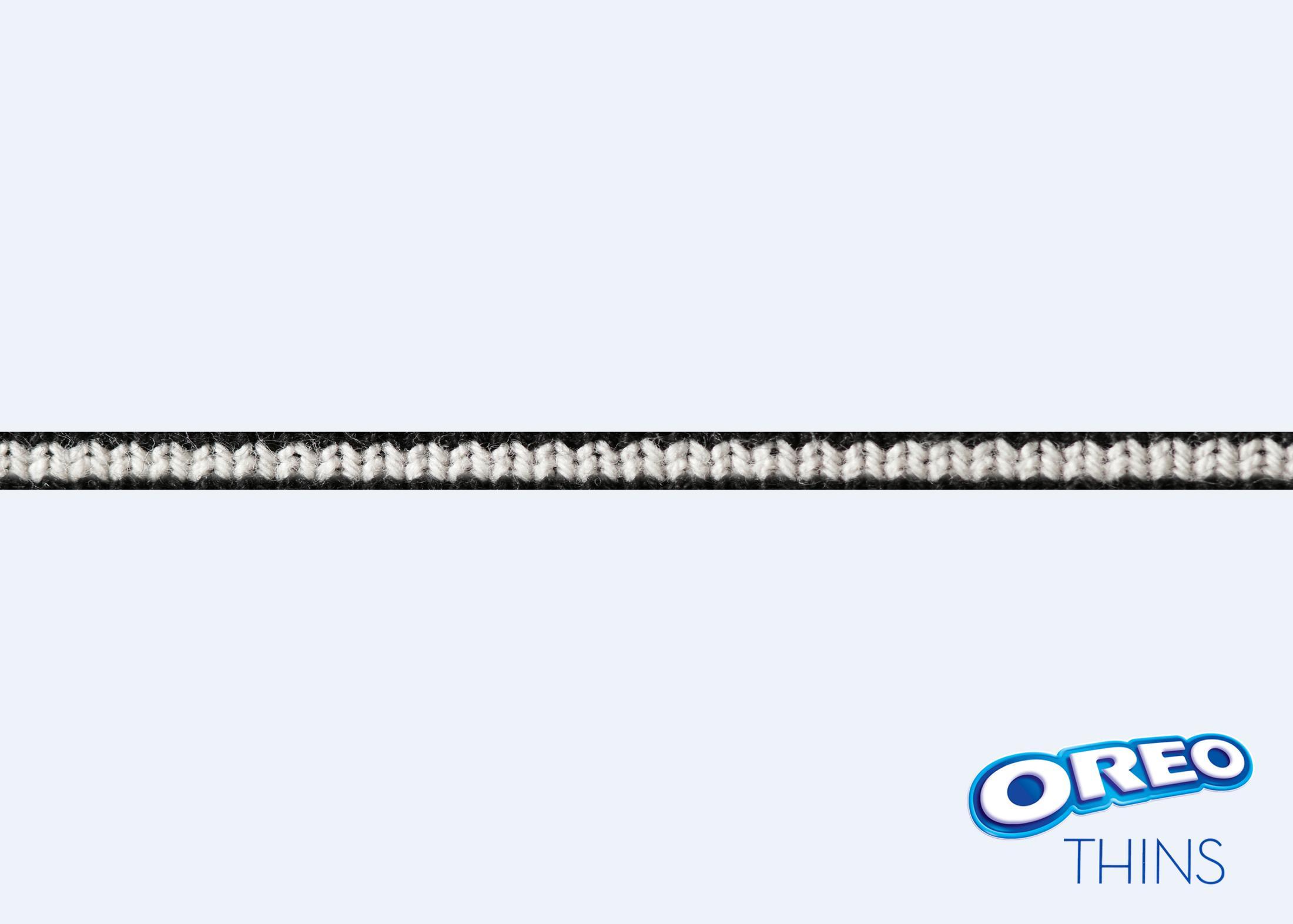 Oreo Print Ad - Knit