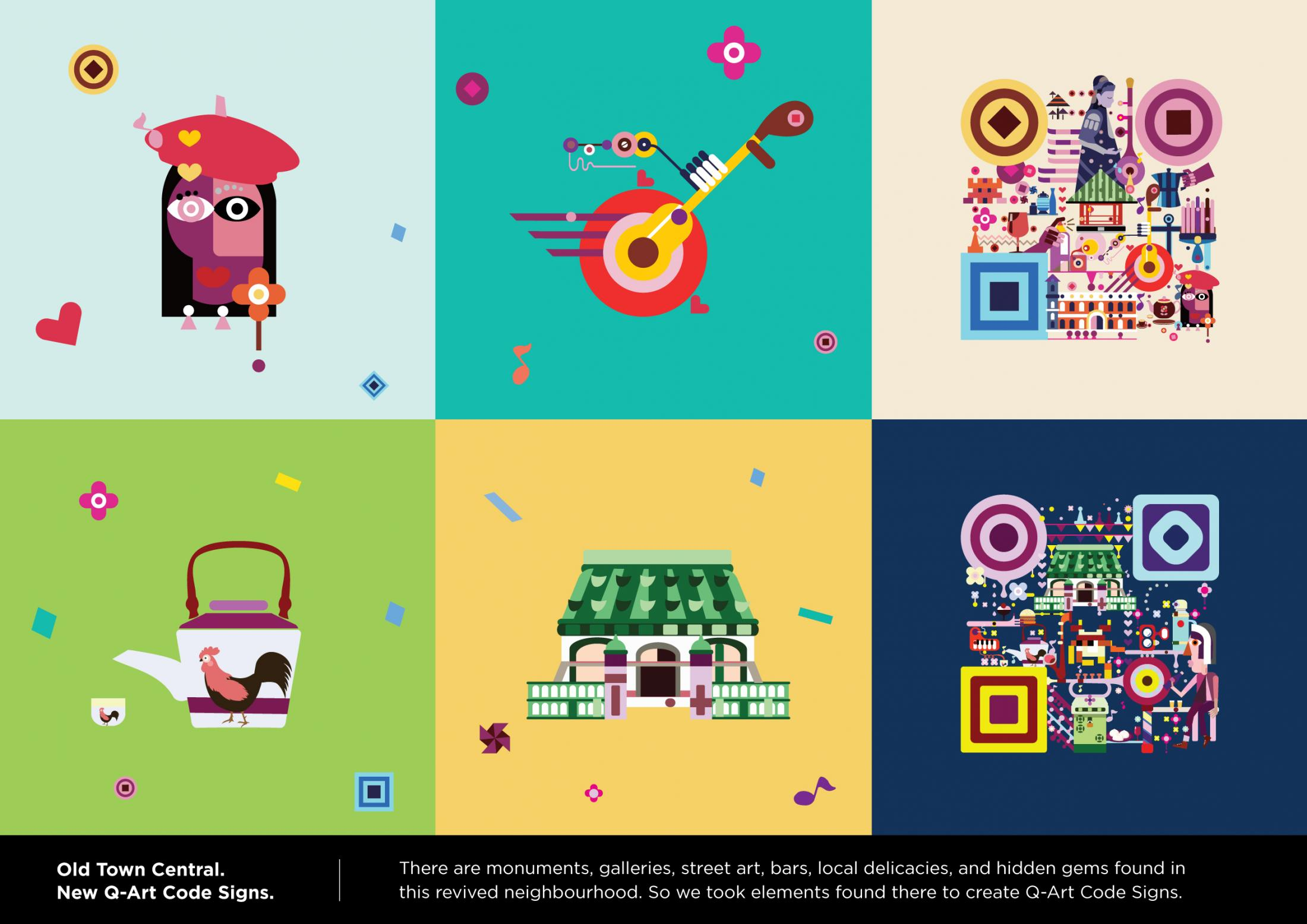Hong Kong Tourism Board Design Ad - The art of introducing Old Town Central to the world