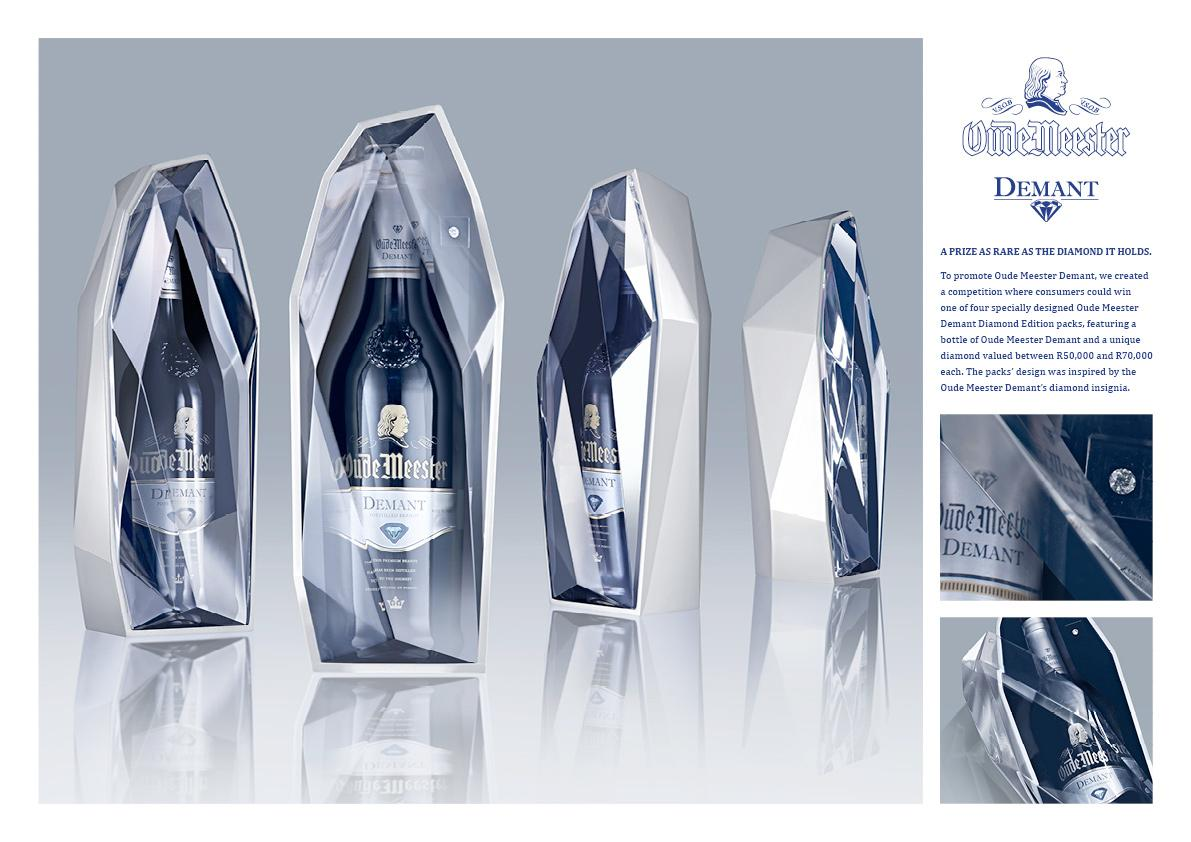 Oude Meester Direct Ad -  A prize as rare as the diamond it holds