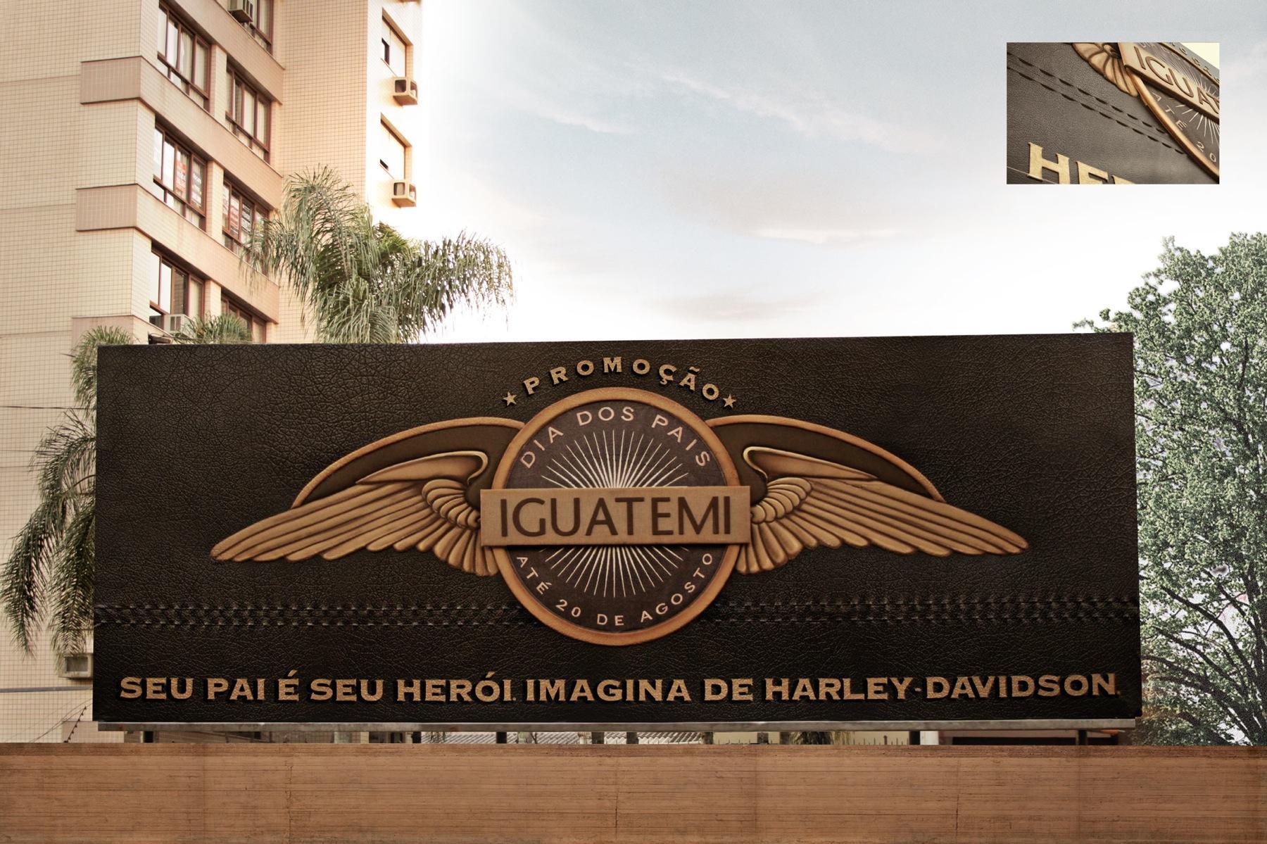 Iguatemi Porto Alegre Outdoor Ad -  Fathers Day