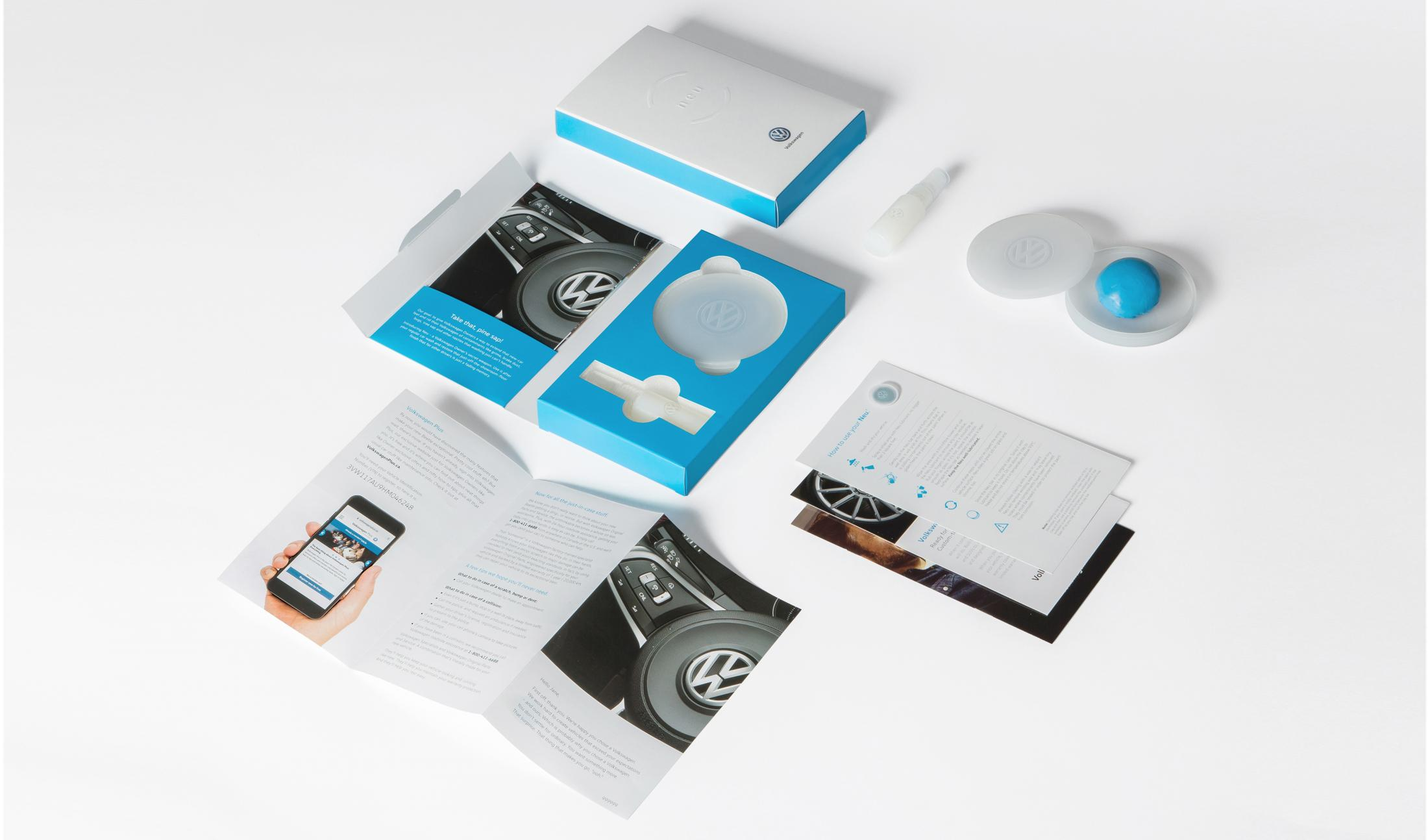 Volkswagen Direct Ad - New Owner Welcome Kit