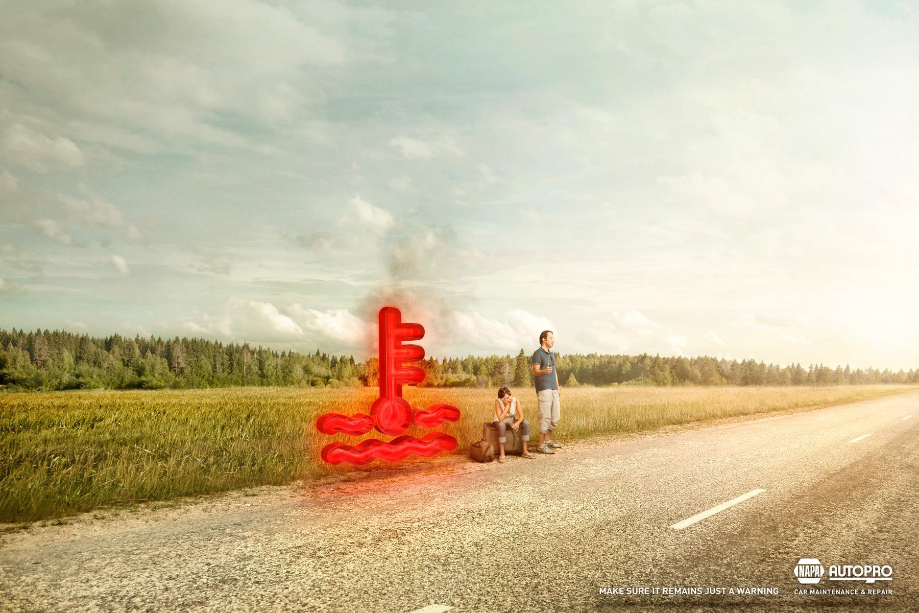 Napa Print Ad -  Overheat