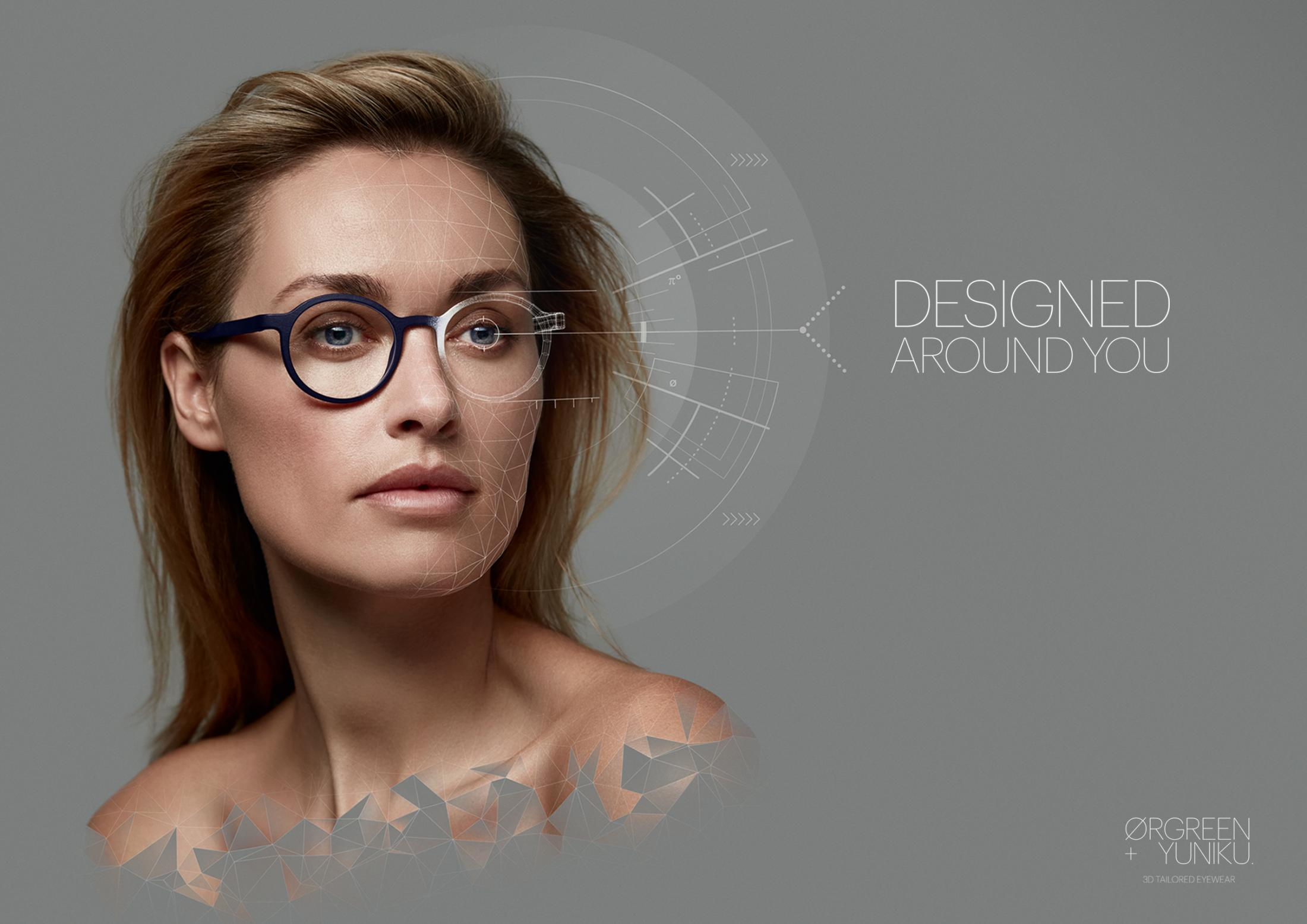 Ørgreen + Yuniku Print Ad - Designed Around You - Joyce