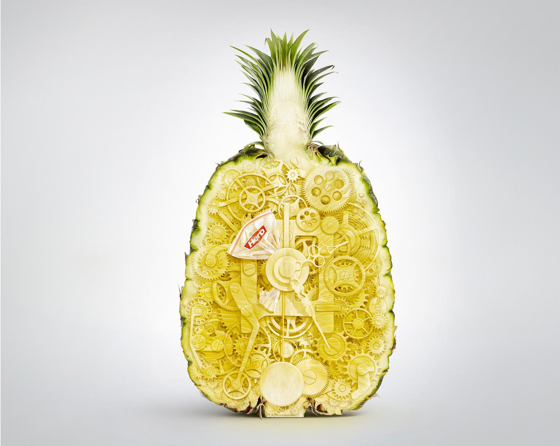 Hero Print Ad -  Pineapple