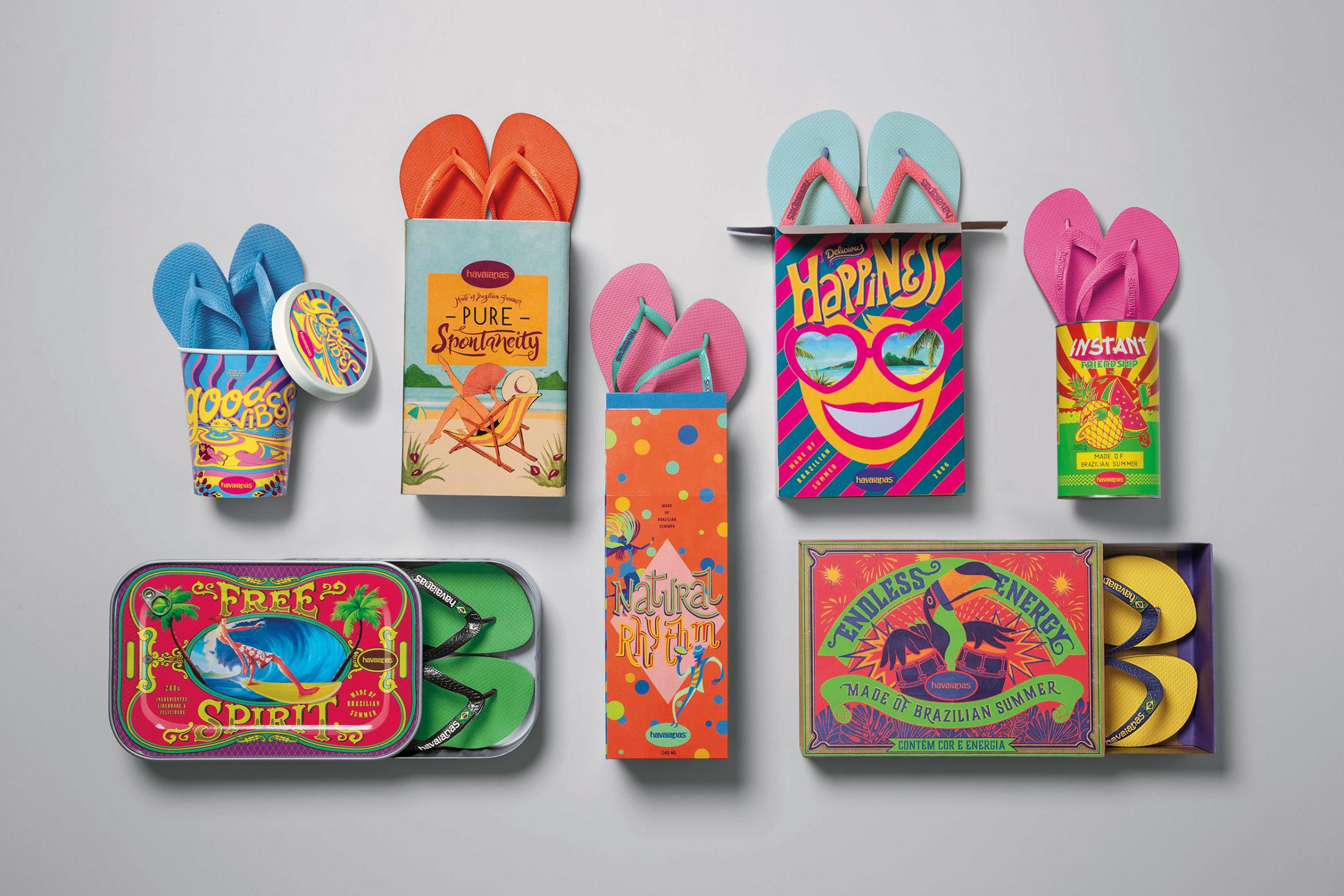 Havaianas Integrated Ad - Made of Brazilian Summer