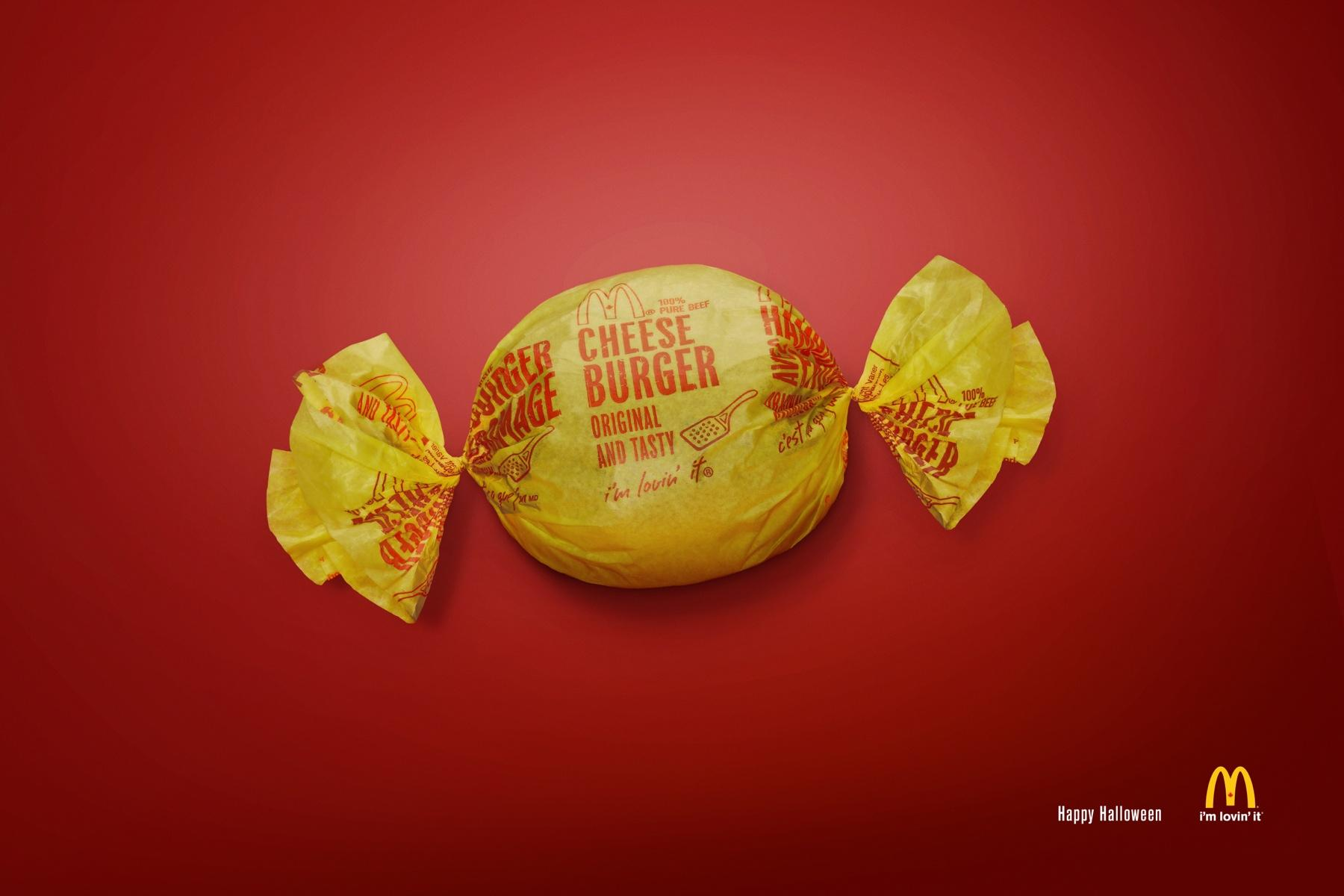 McDonald's Print Ad -  Happy Halloween