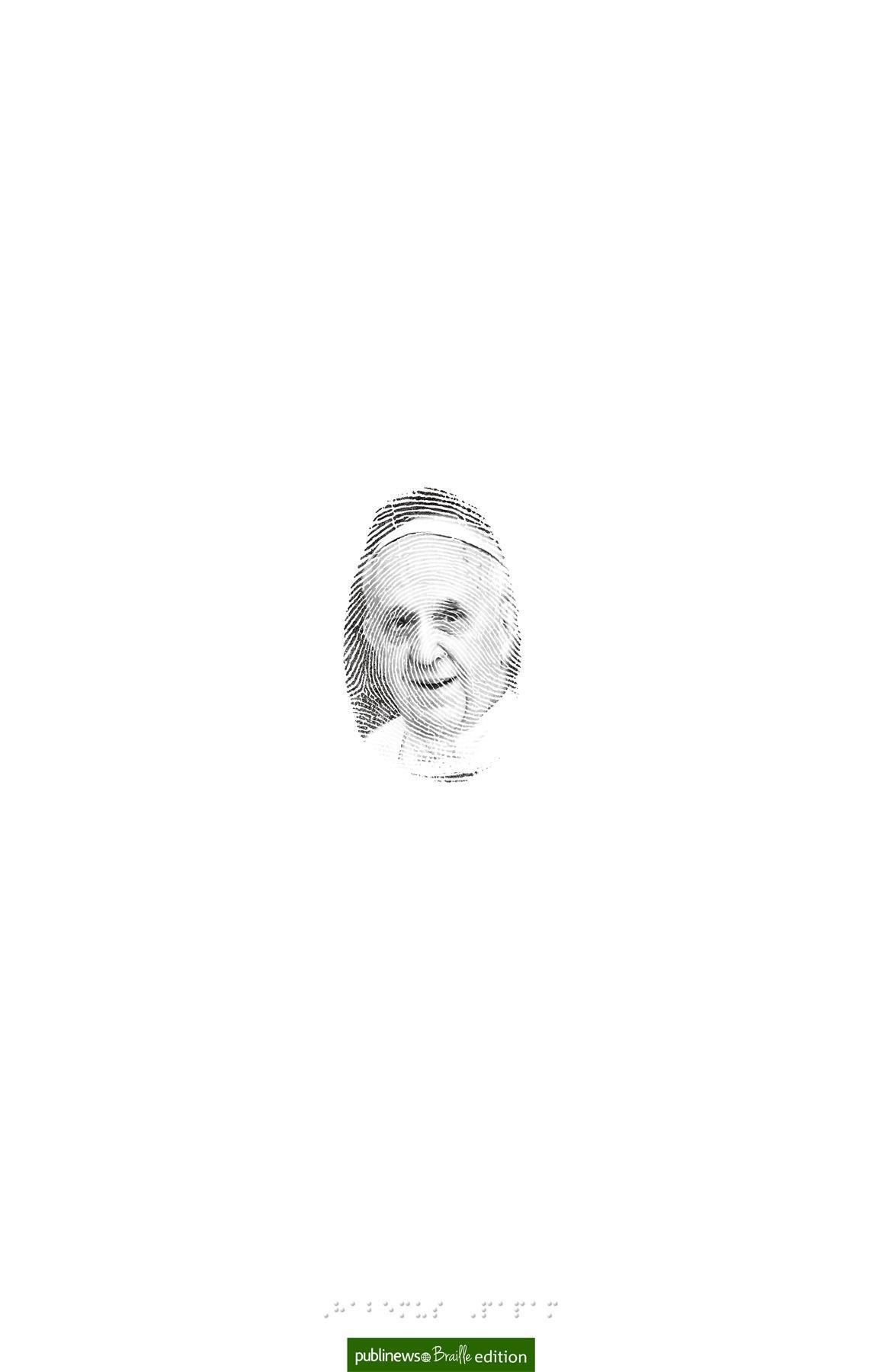 Publinews Print Ad -  Pope