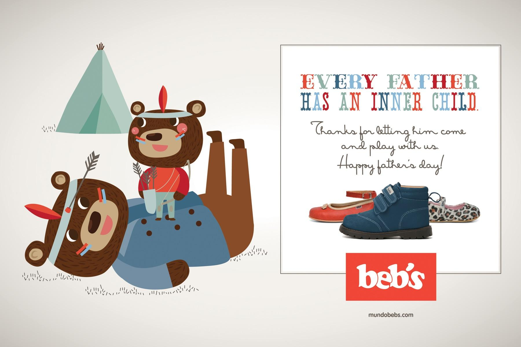 Beb's Print Ad -  Father's Day