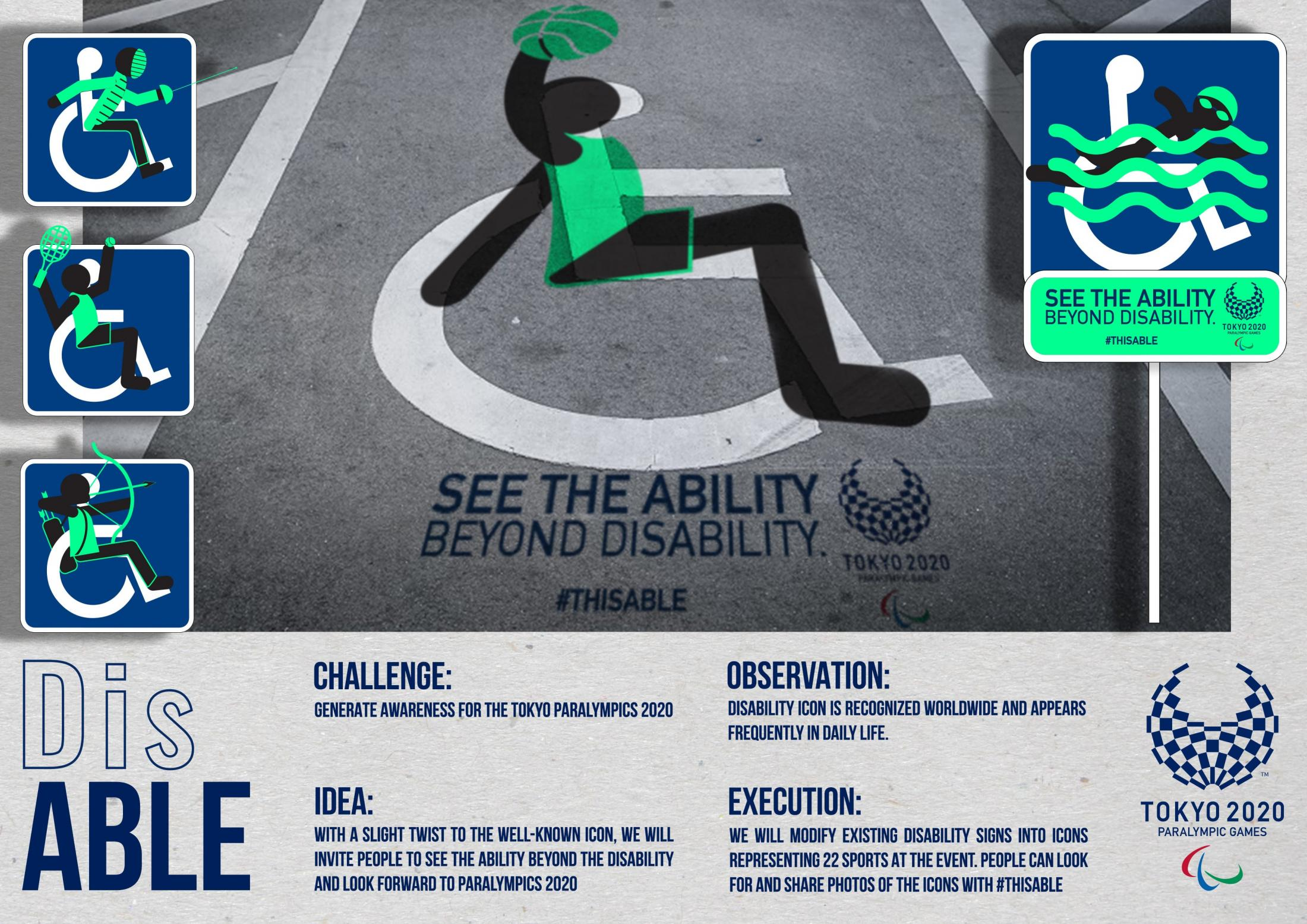 Paralympic Games Ambient Ad - ThisAble