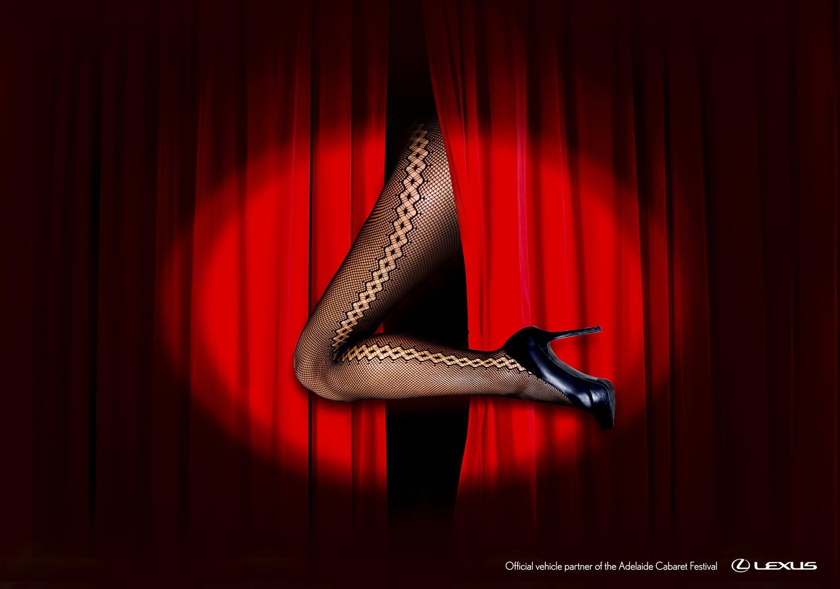Lexus Print Ad -  Adelaide Cabaret Festival