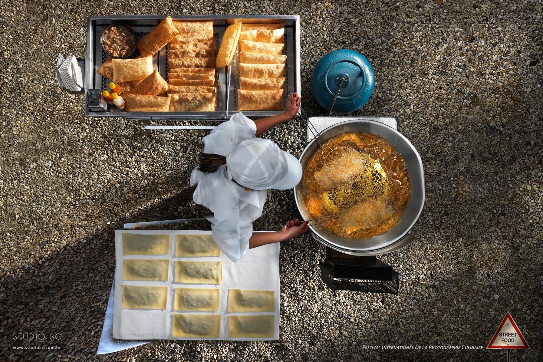 Festival International de la Photographie Culinaire Print Ad -  Street Food, 3
