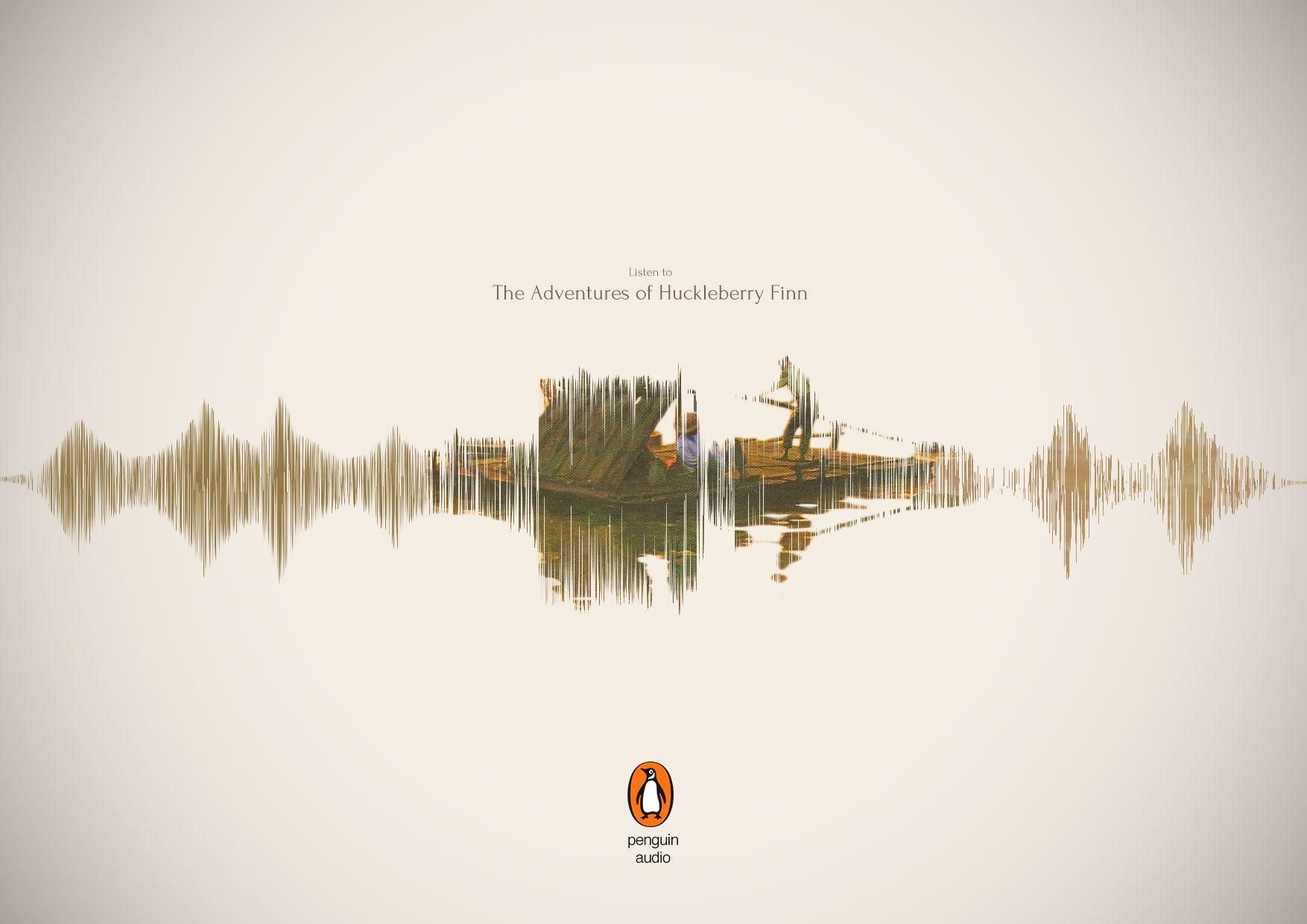 Penguin Print Ad - Huckleberry Finn