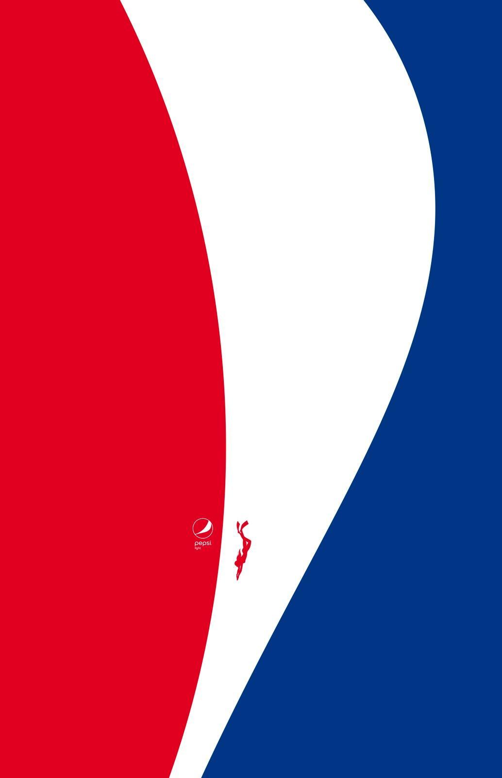 Pepsi Print Ad - Feel Light - Pnea