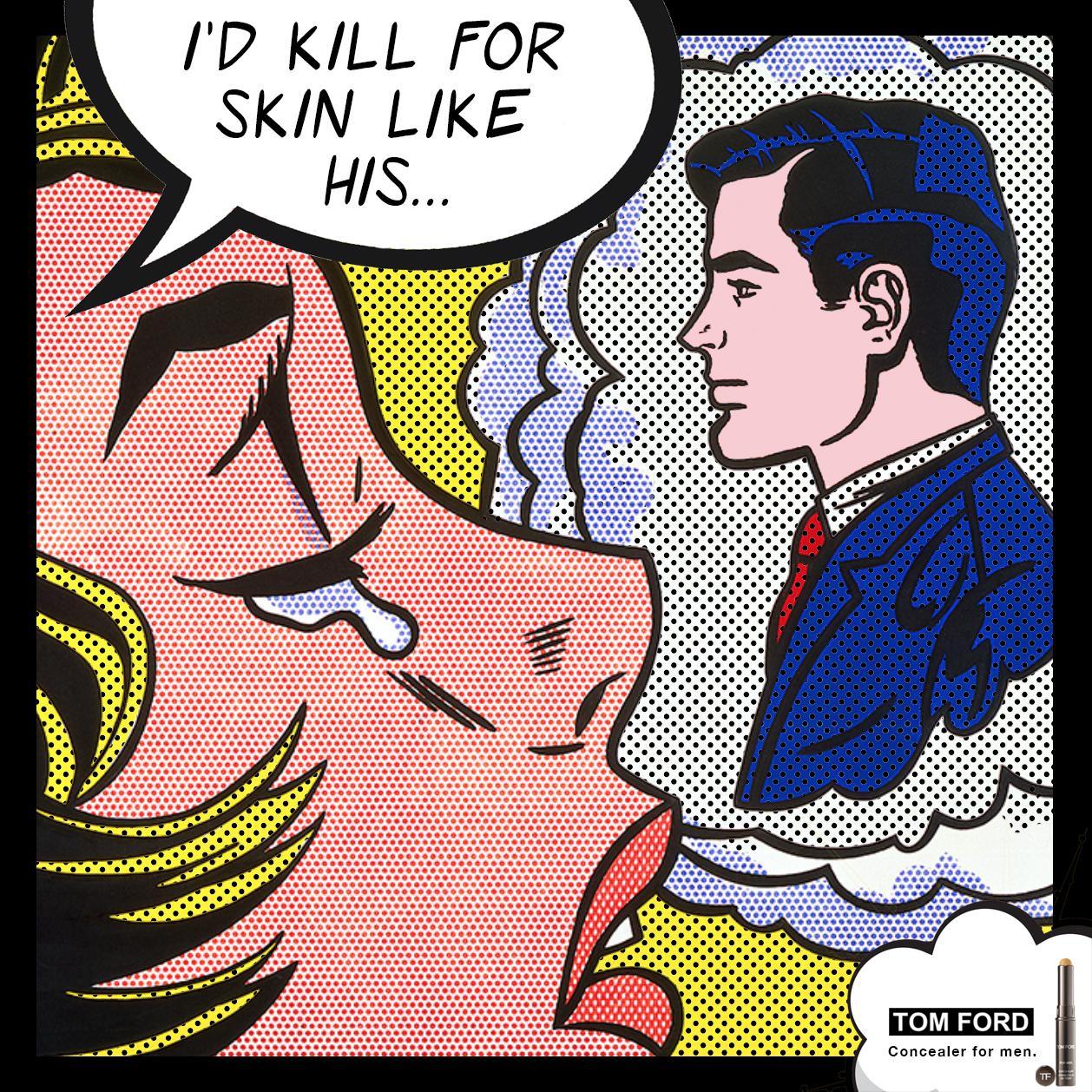 Tom Ford Outdoor Ad - Concealer for Men