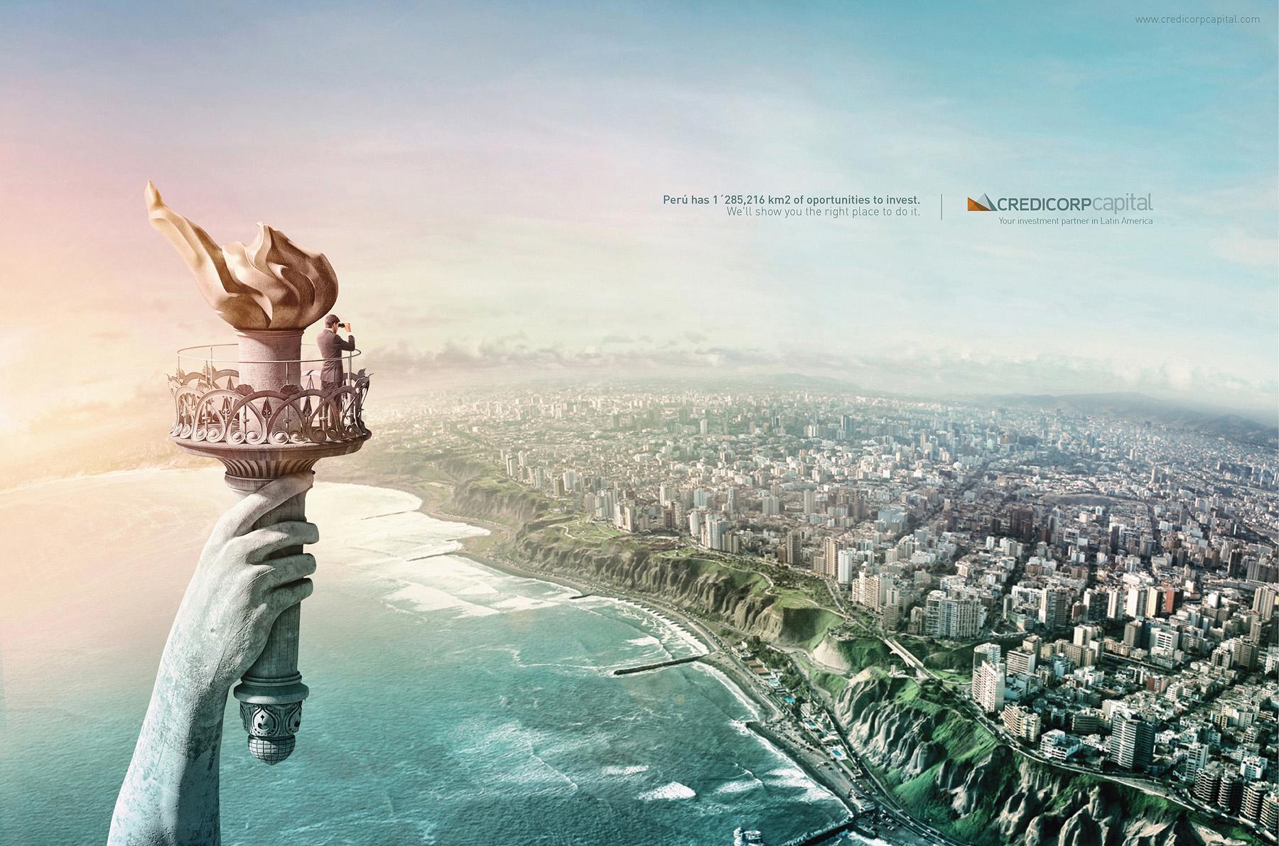 Credicorp Print Ad -  Peru