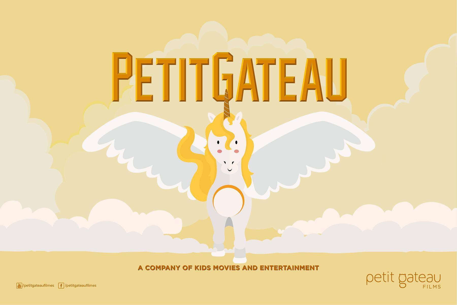 Petit Gateau Filmes Print Ad -  Unicorn