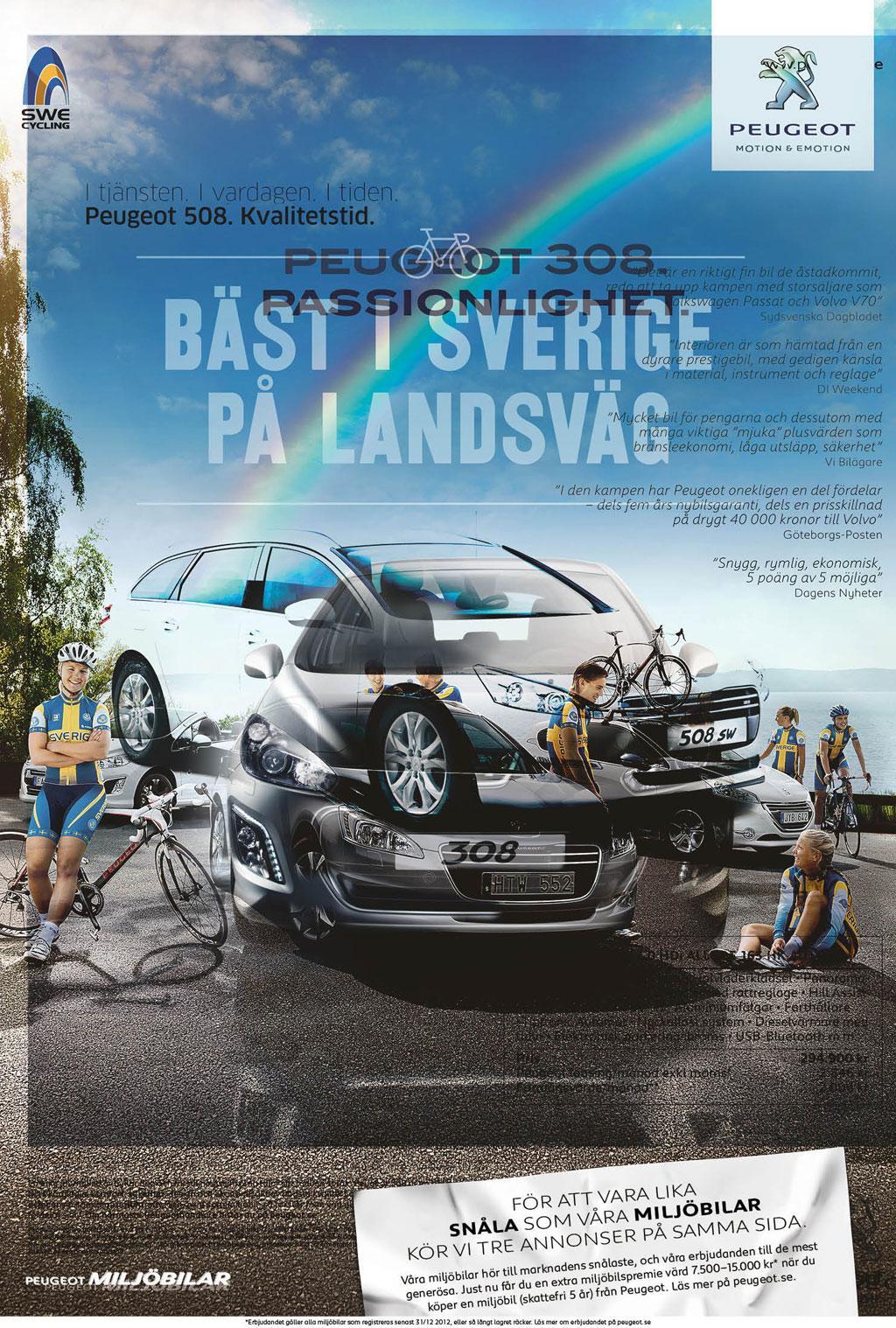 Peugeot Print Ad -  3-in-1