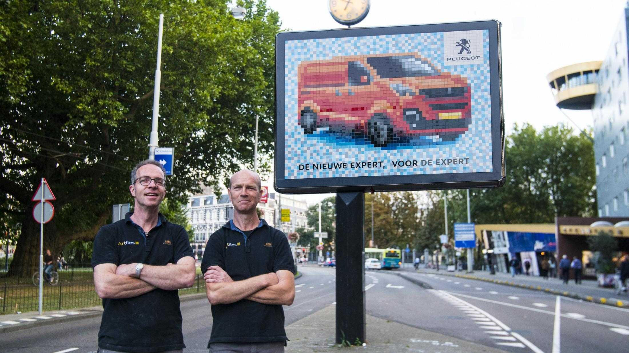 Peugeot Outdoor Ad - Mosaic
