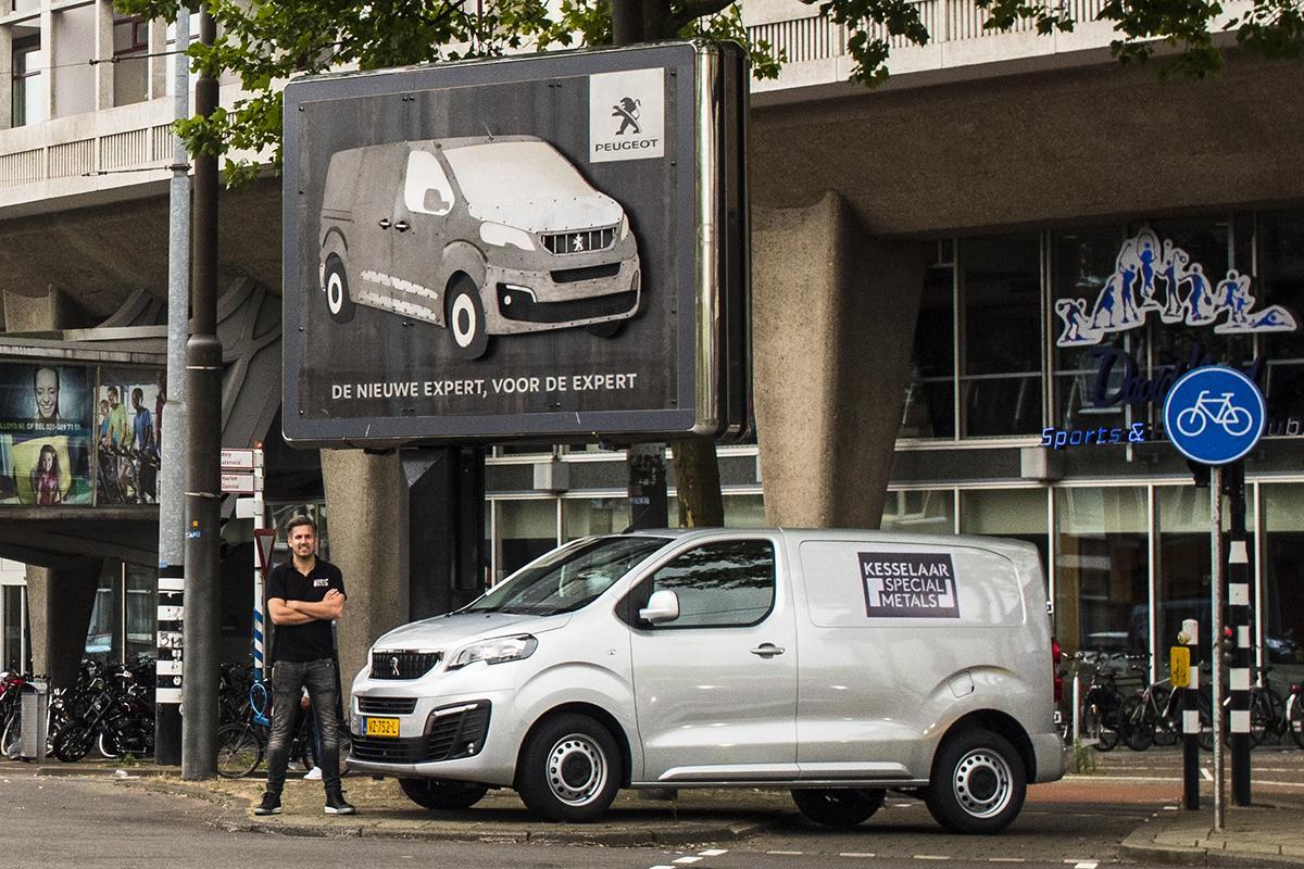 Peugeot Outdoor Ad - Metalwork