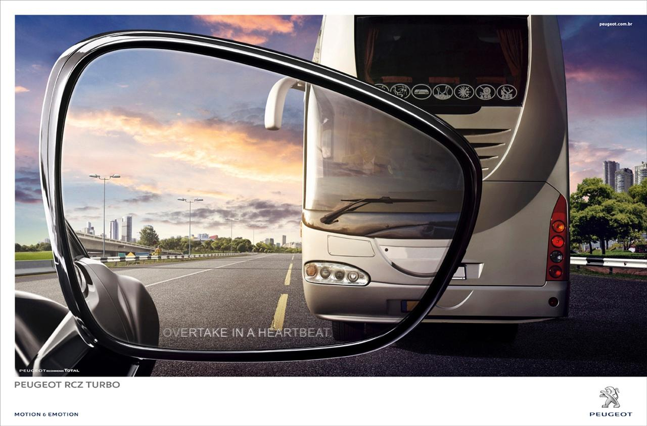 Peugeot Outdoor Ad -  Bus