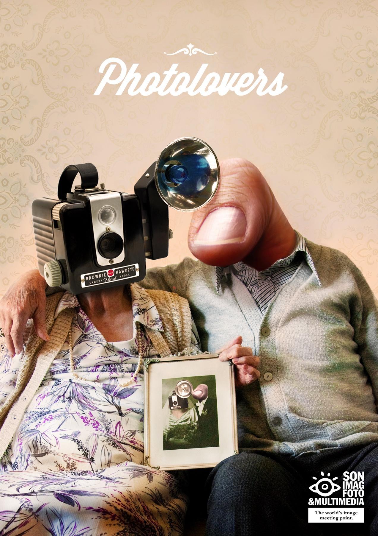 Sonimagfoto Print Ad -  Professional Photolovers