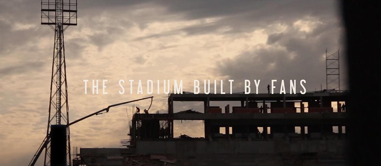 Cerro Porteño Experiential Ad - Stadium built by fans