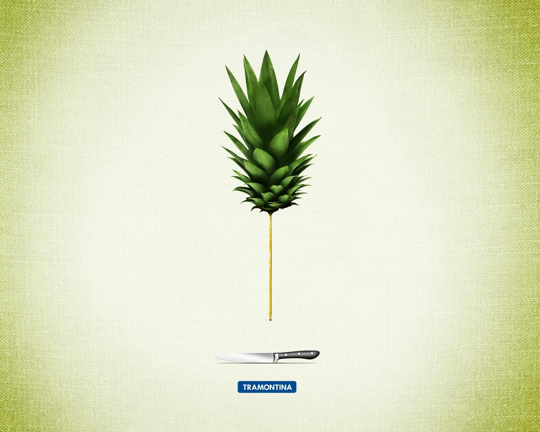 Tramontina Print Ad -  Pineapple