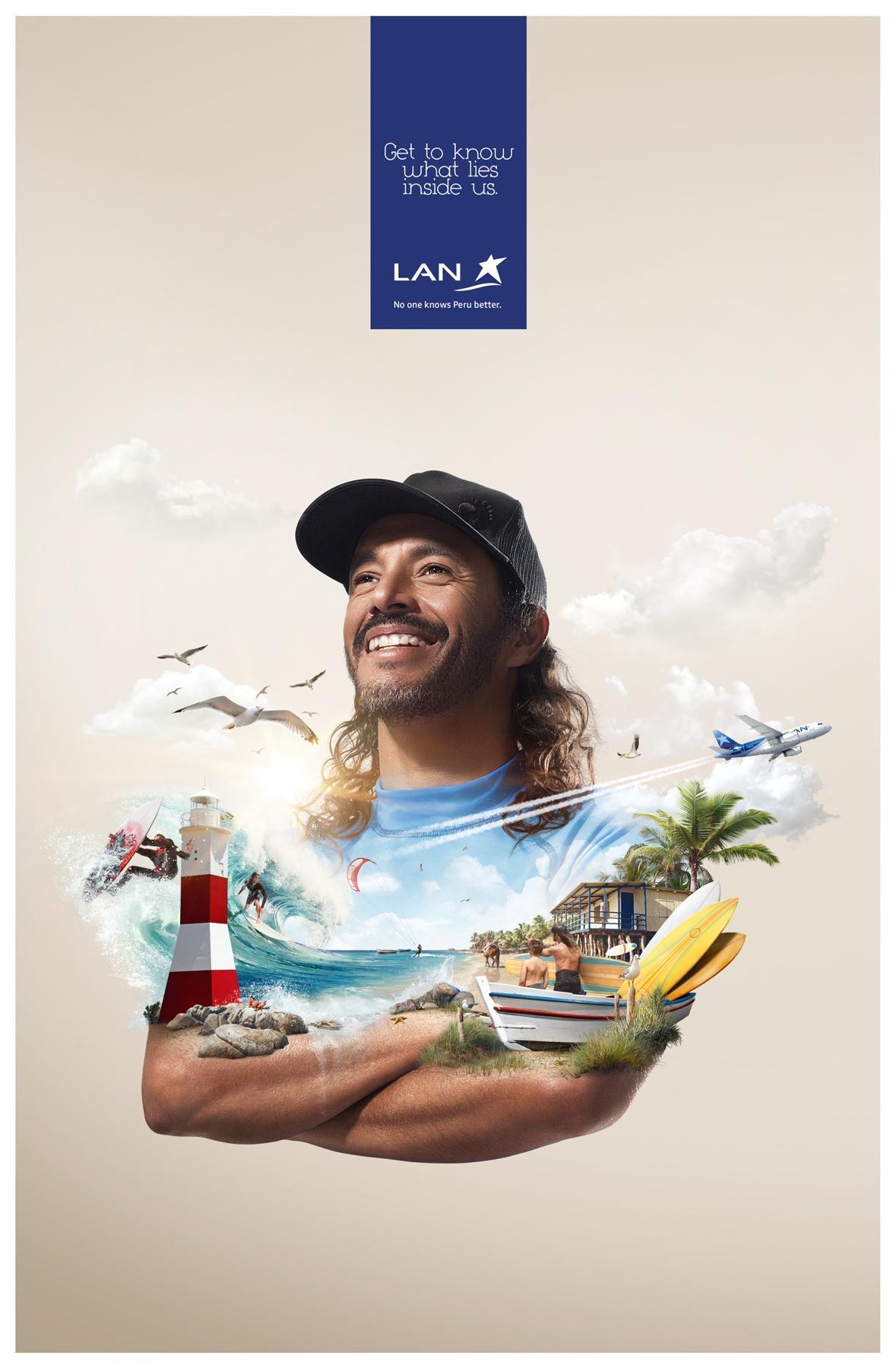 LAN Print Ad -  Piura