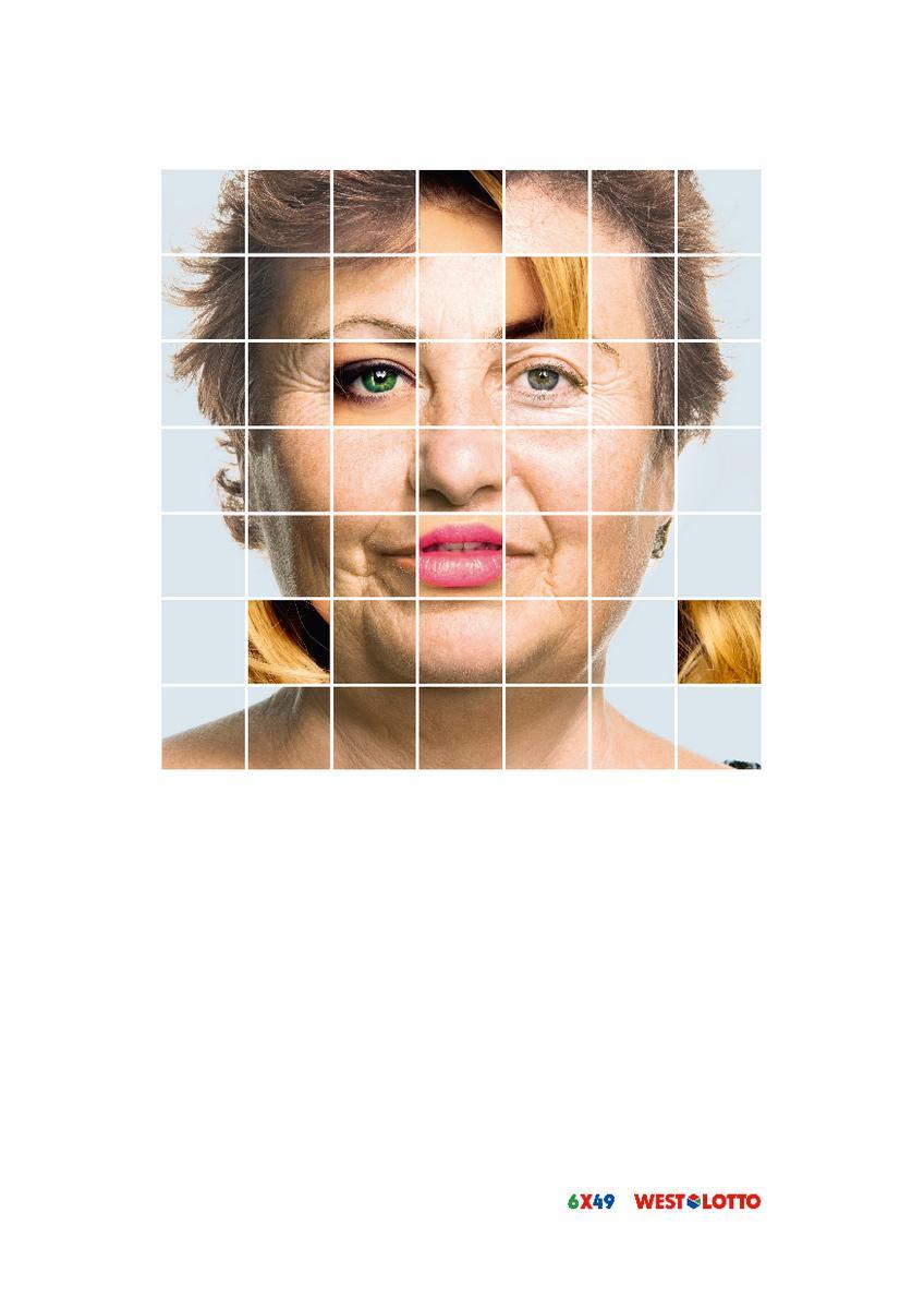 Westdeutsche Lotterie Outdoor Ad -  Plastic Surgery