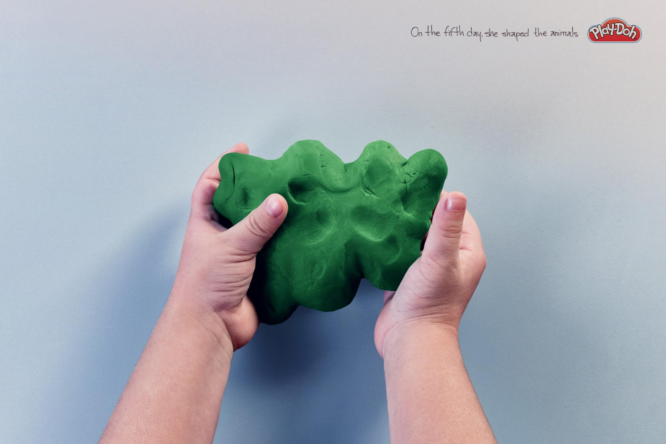 Play-Doh Print Ad - The fifth day