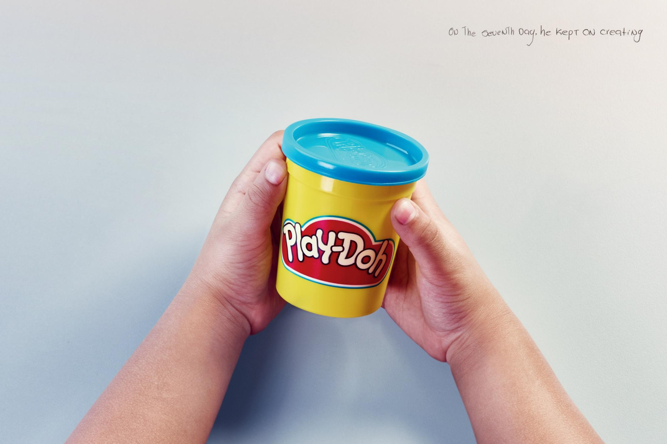 Play-Doh Print Ad - The seventh day