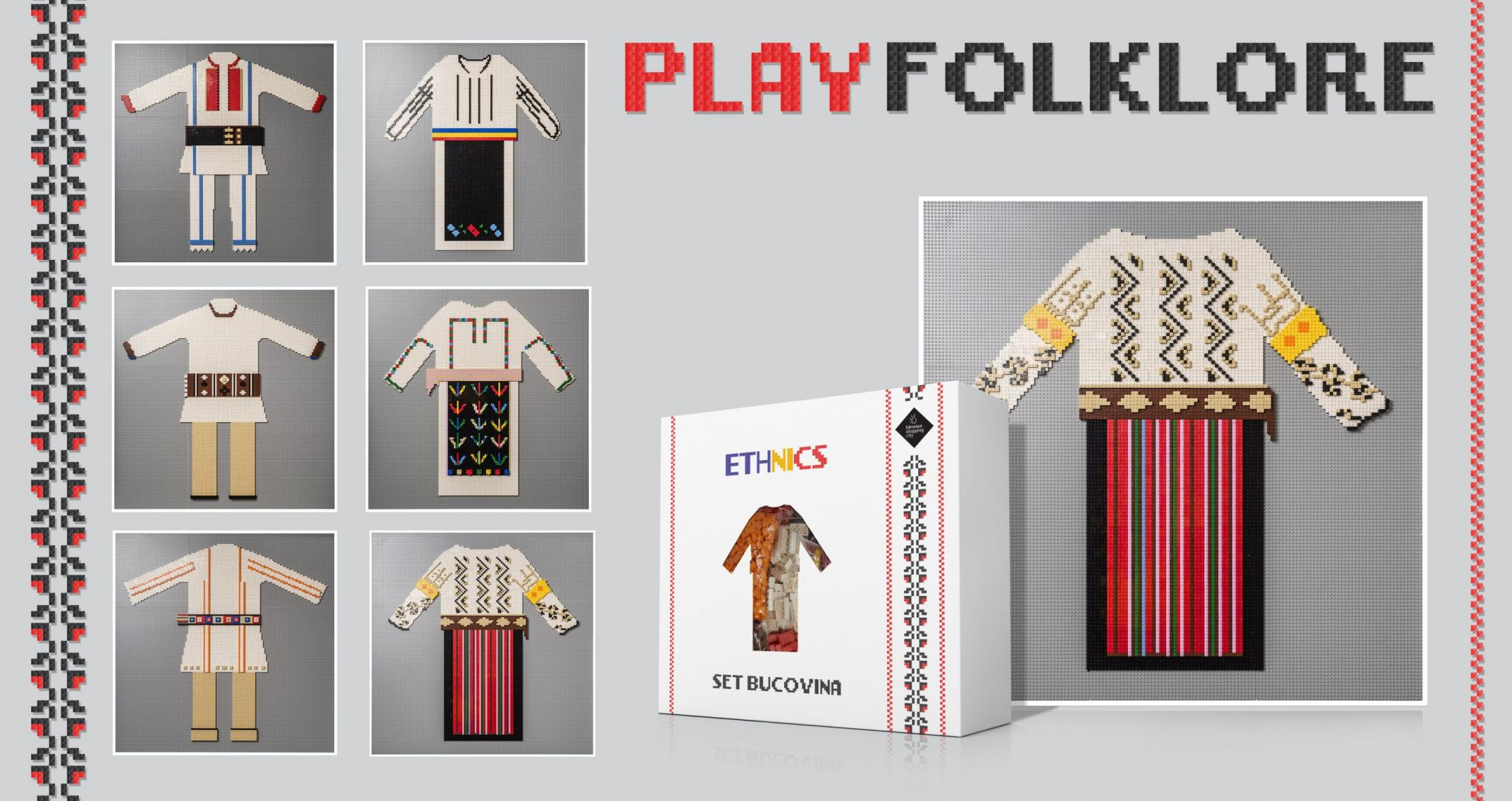 Baneasa Shopping City Experiential Ad - Play Folklore
