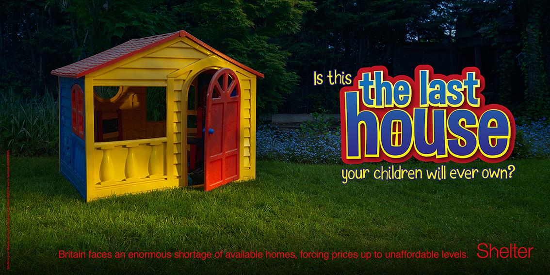 Shelter Outdoor Ad -  Playhouse