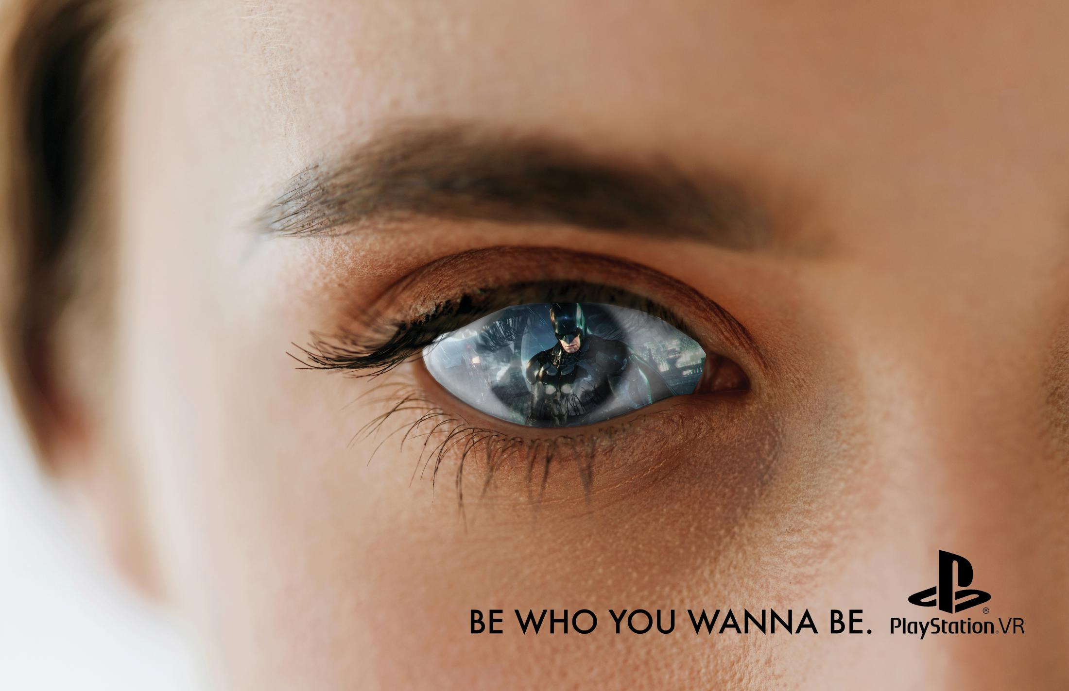 PlayStation Print Ad - Be Who You Wanna Be, 1