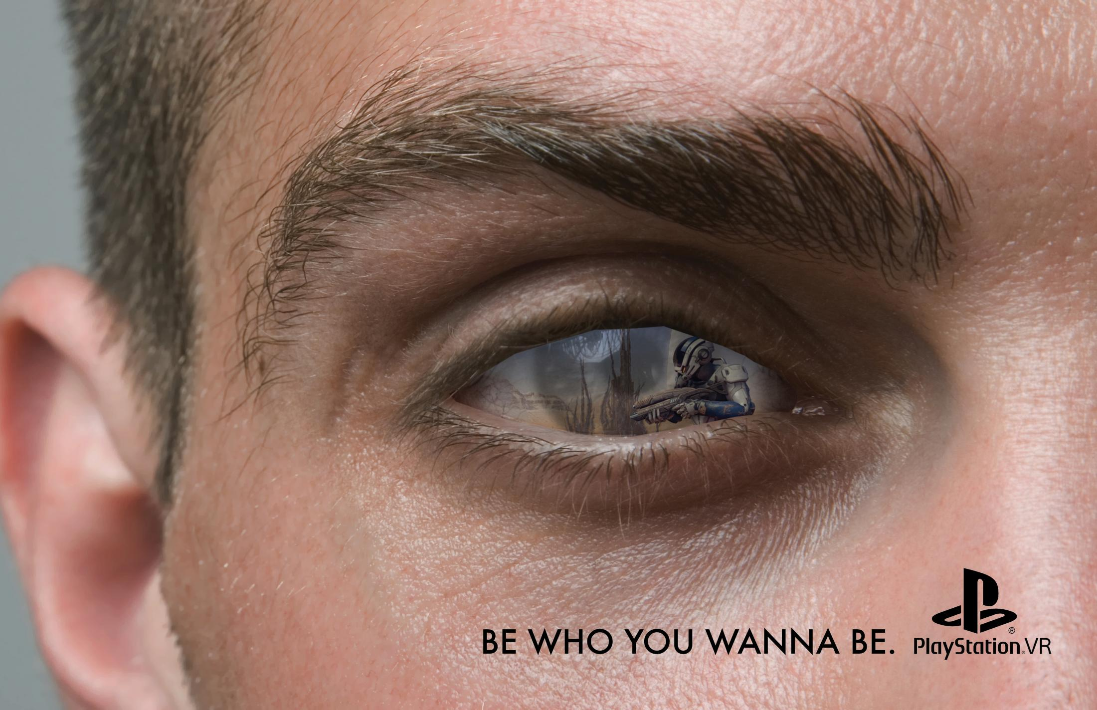 PlayStation Print Ad - Be Who You Wanna Be, 3