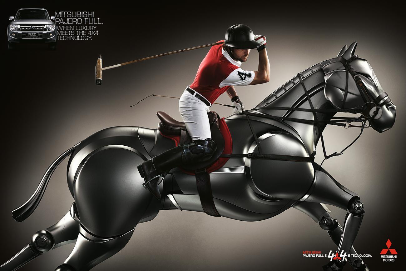 Mitsubishi Print Ad -  Polo