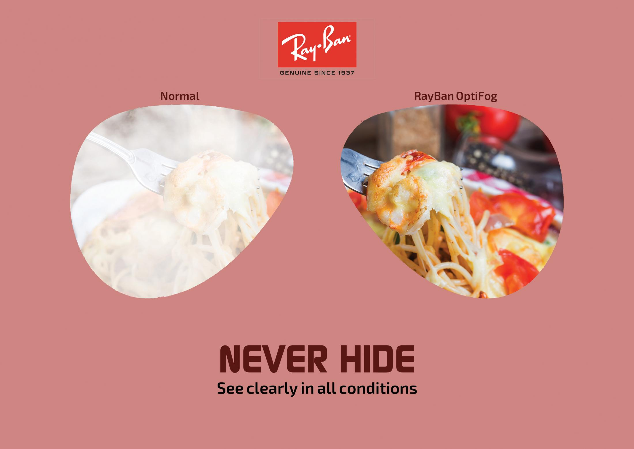 Ray-Ban Print Ad - Never Hide, 3
