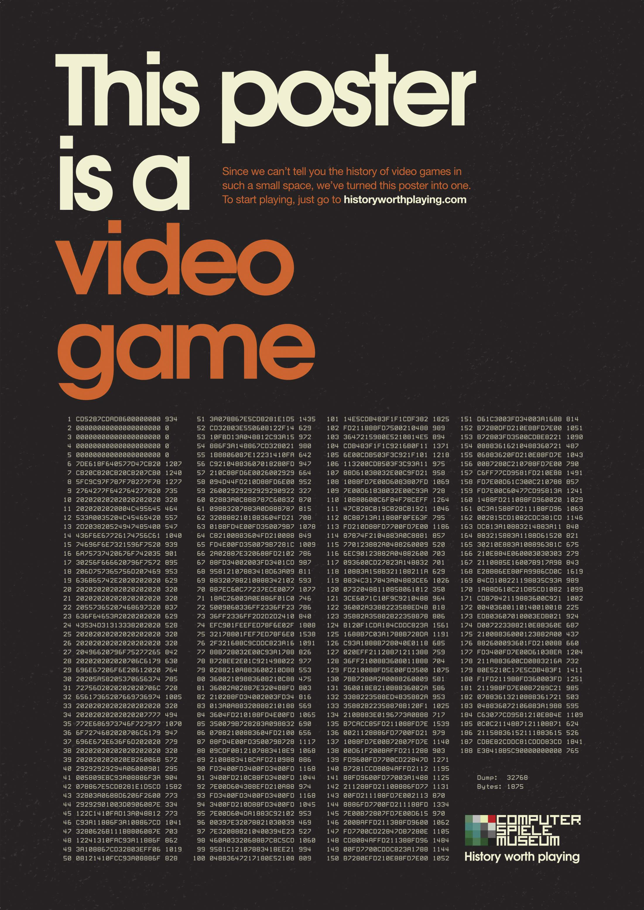Computer Spiele Museum Integrated Ad - History worth playing