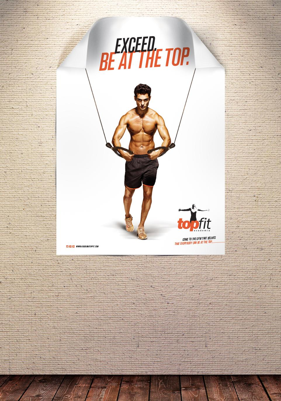 Topfit Fitness Club Outdoor Ad -  Cable crossover