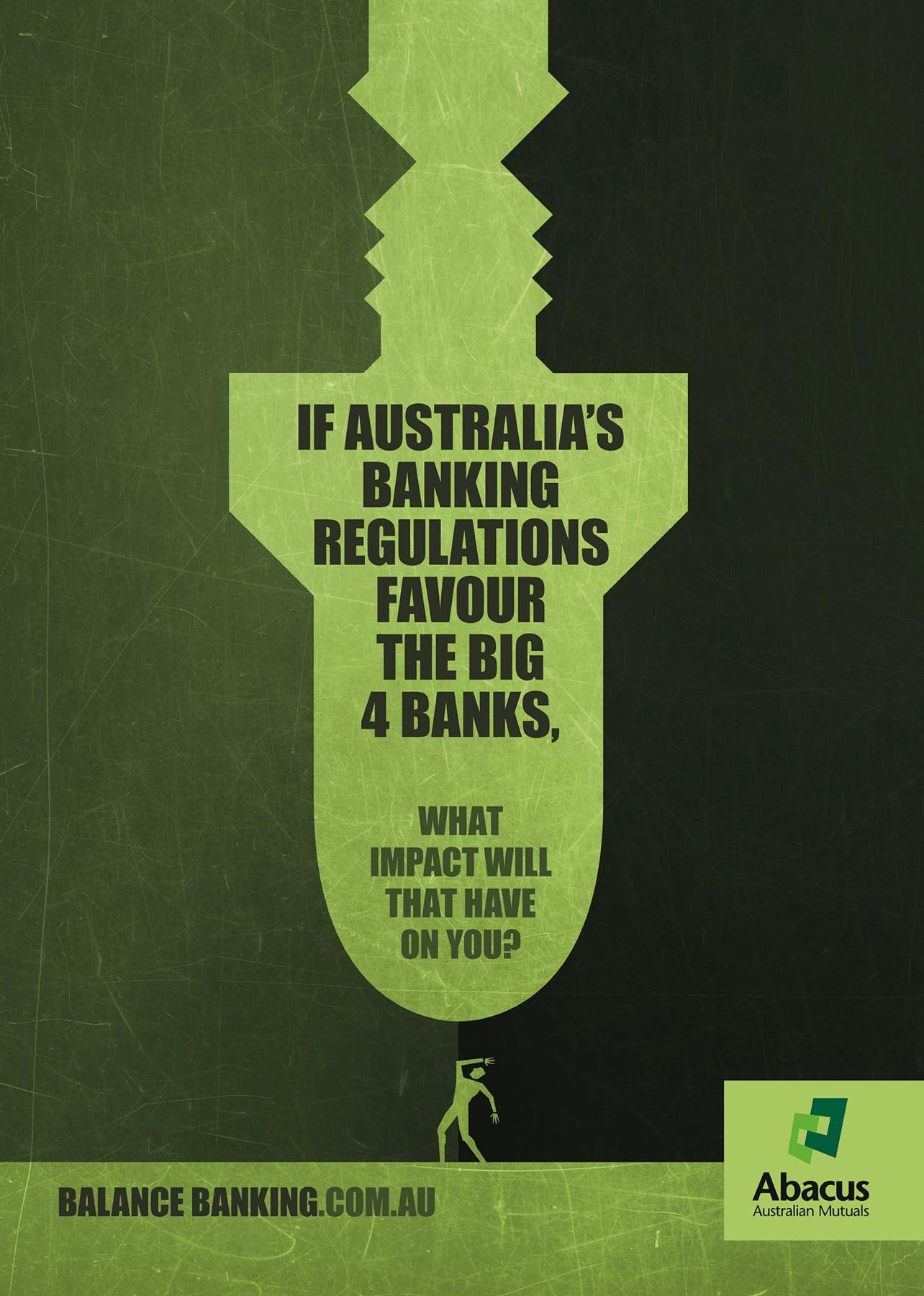 Abacus Australian Mutuals Print Ad -  Balance Banking, 2