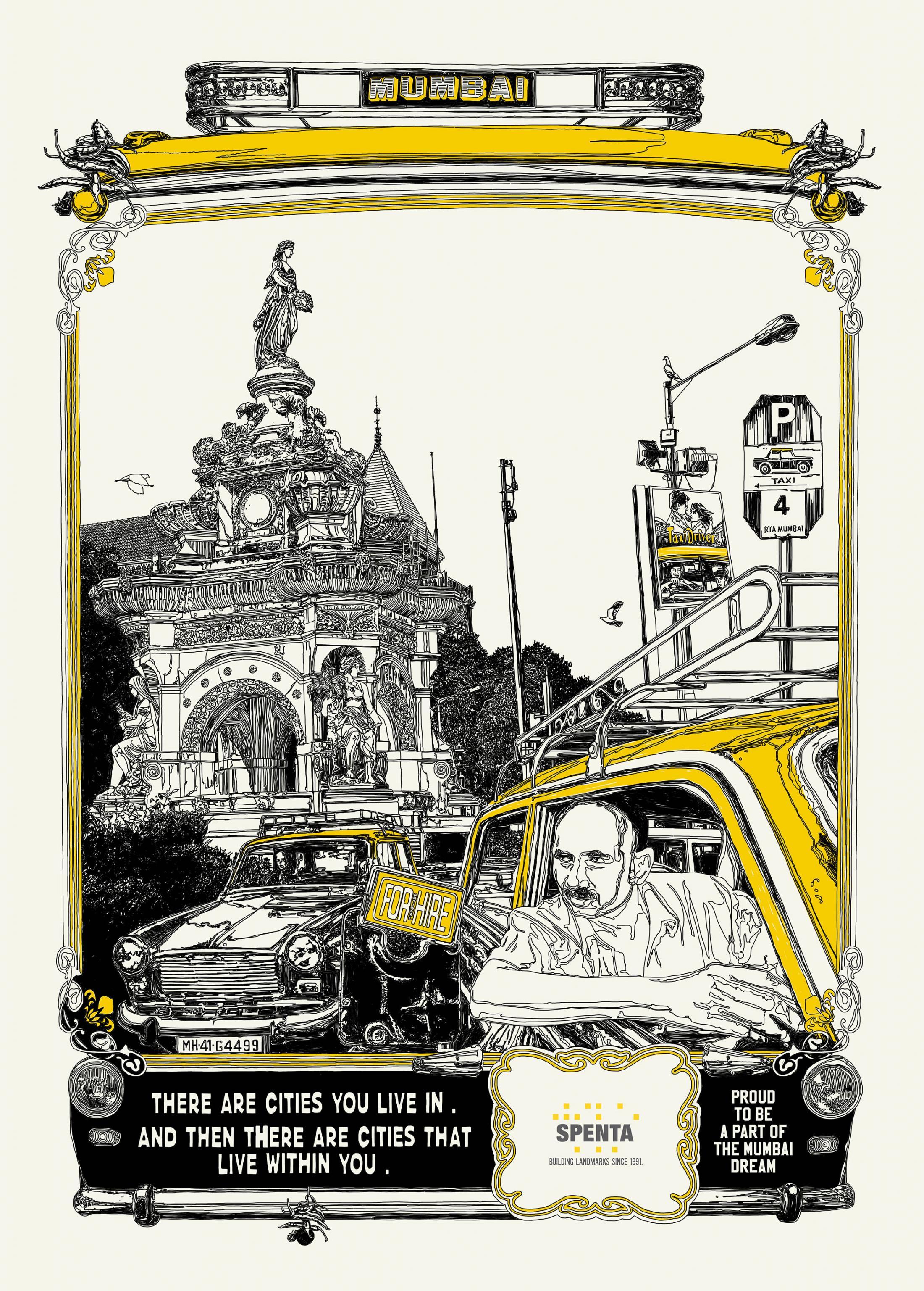 Spenta Print Ad - Mumbai dream, 2