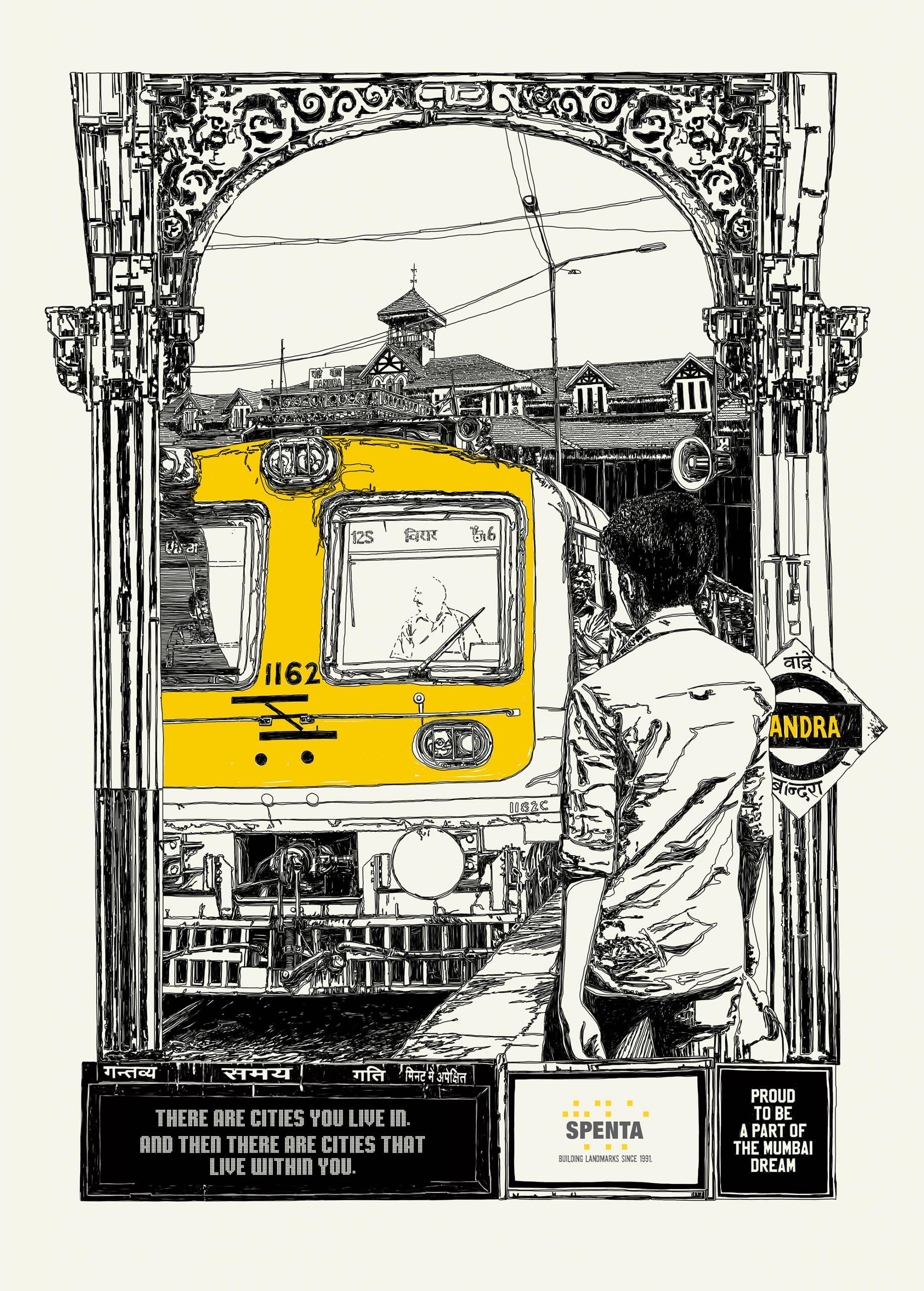 Spenta Print Ad - Mumbai dream, 3