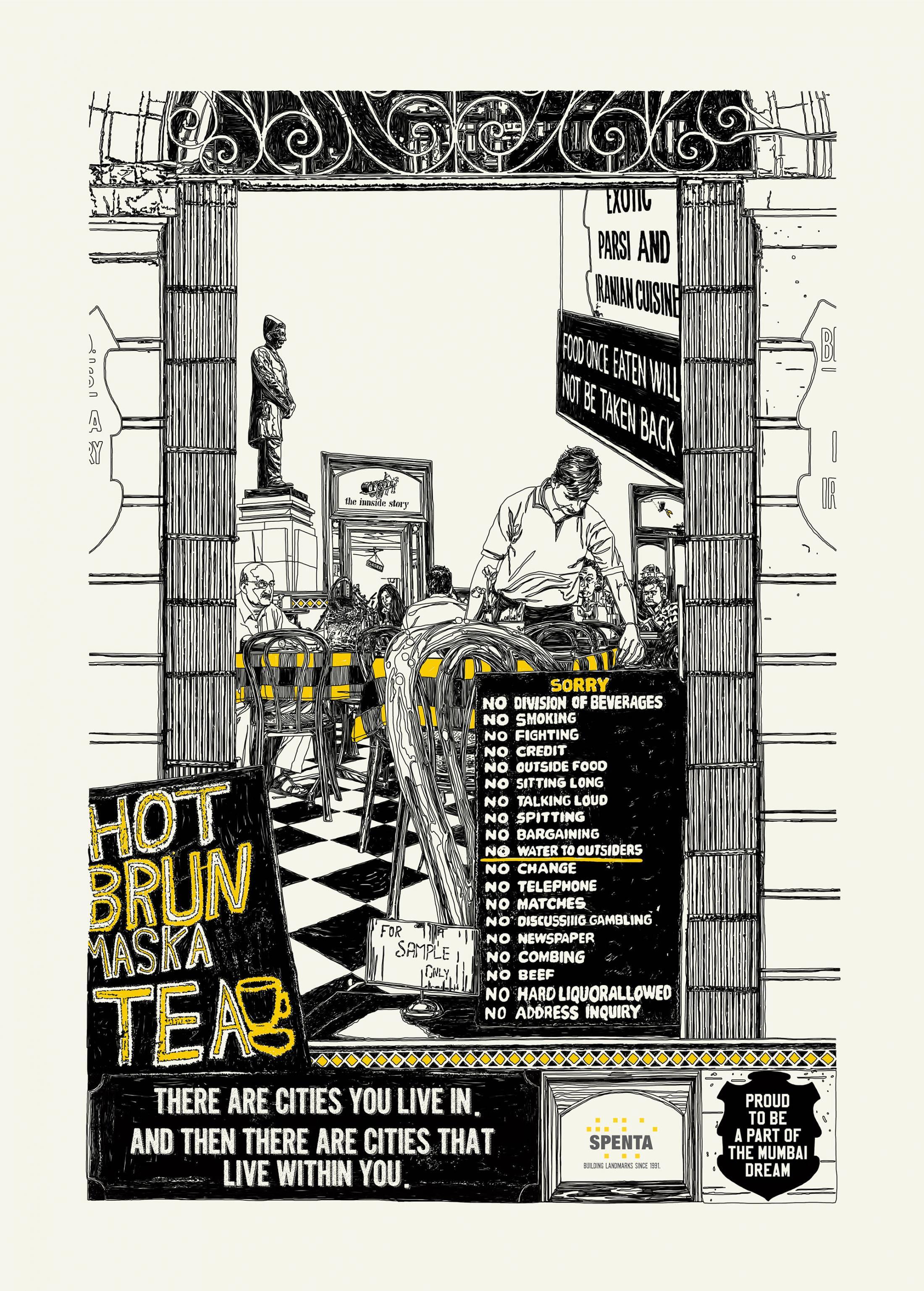 Spenta Print Ad - Mumbai dream, 4