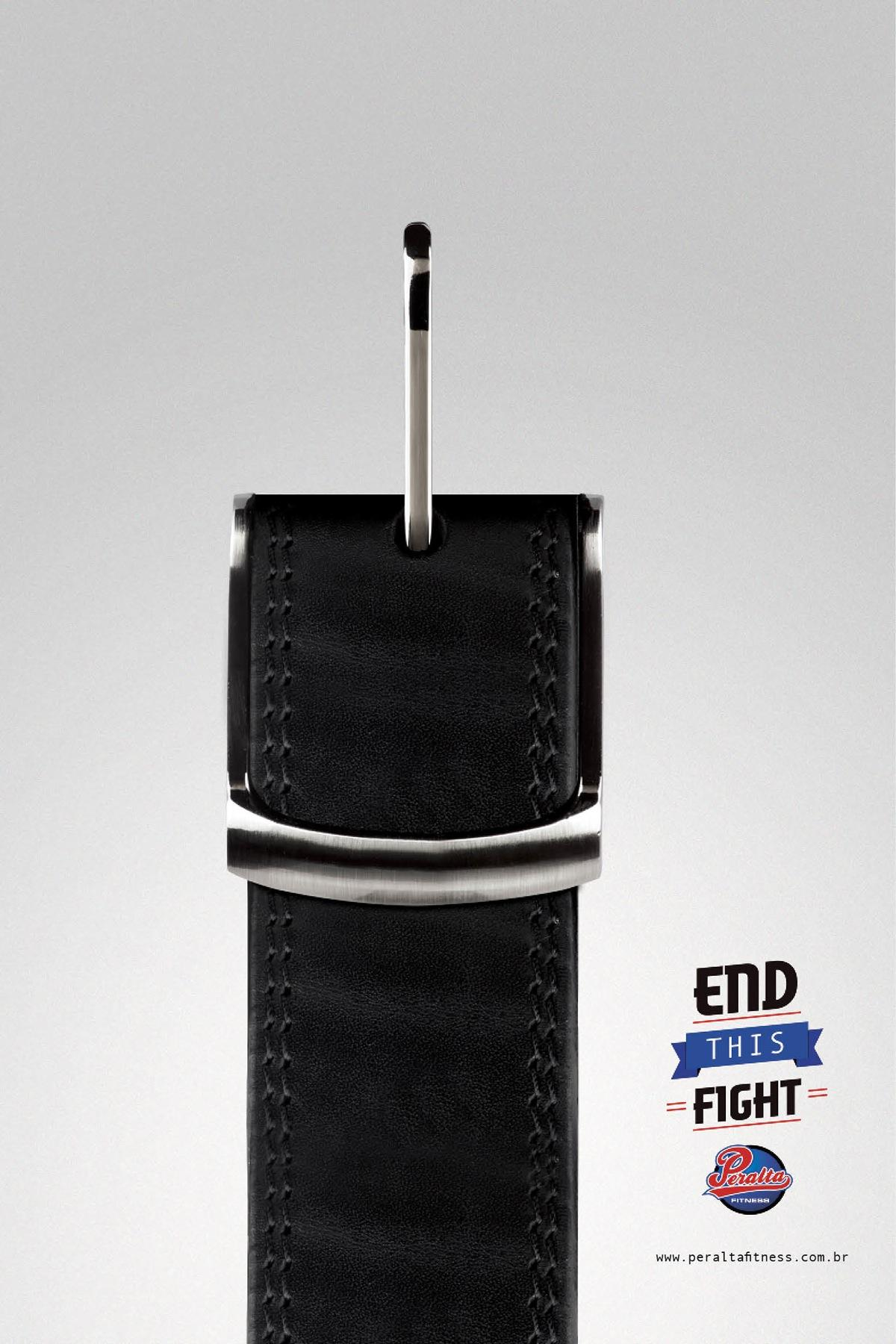 Peralta Fitness Print Ad -  Belt, 2