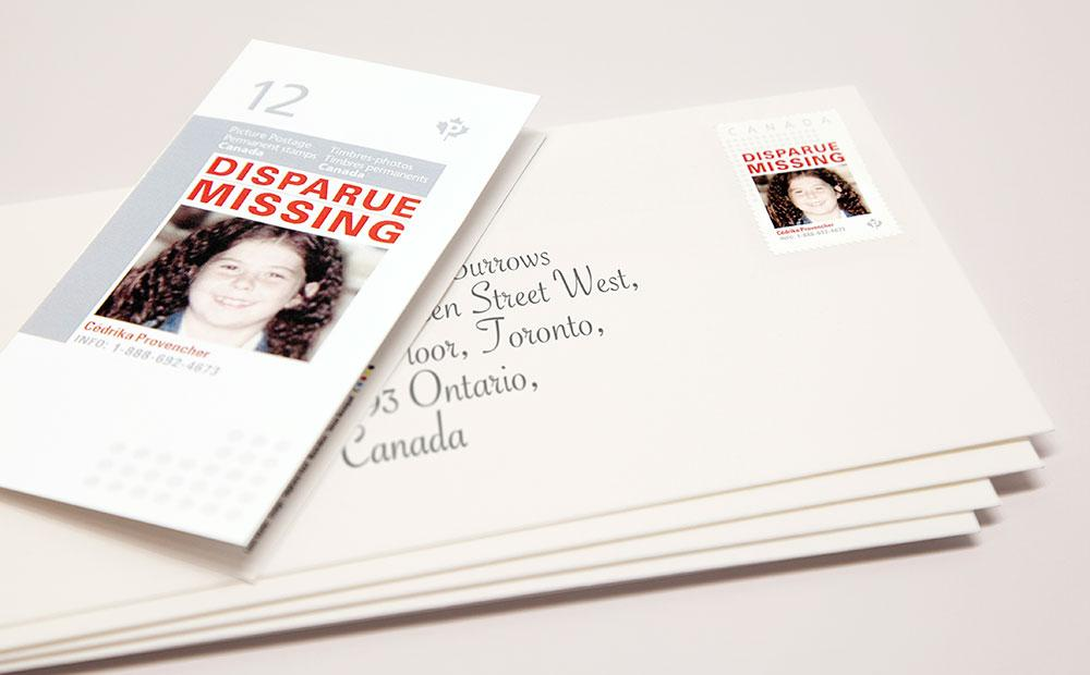 Missing Kids Stamps Digital Ad -  Missing Children's Network