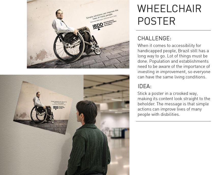 IBDD Outdoor Ad -  Wheelchair