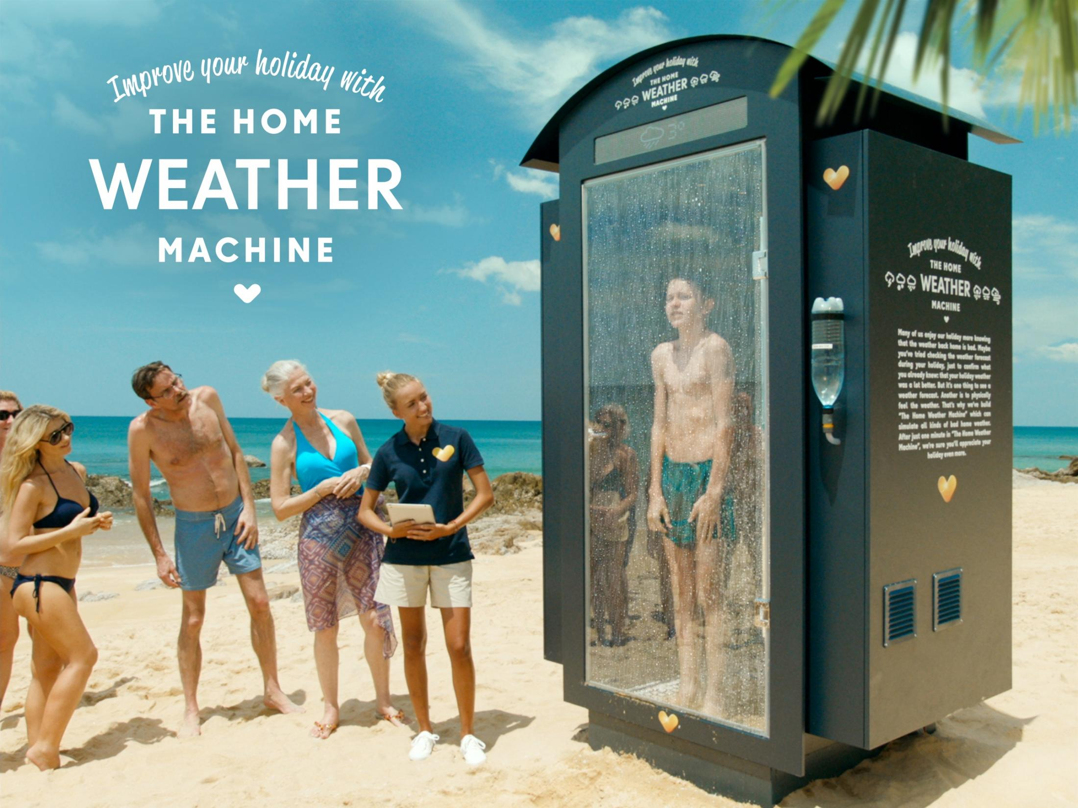 SPIES Travels Experiential Ad - The Home Weather Machine