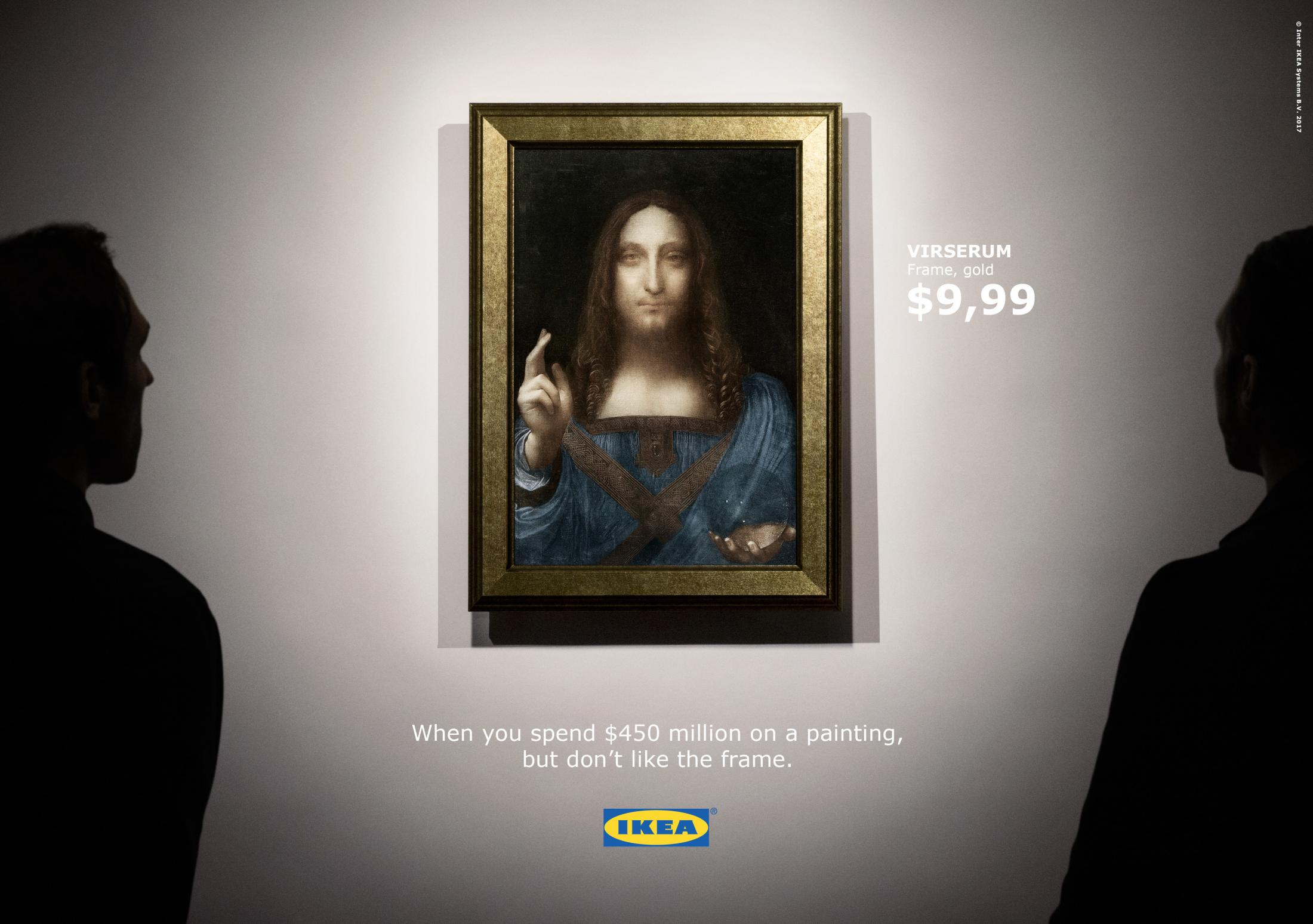 IKEA Digital Ad - Ikea's response to the world's most expensive painting