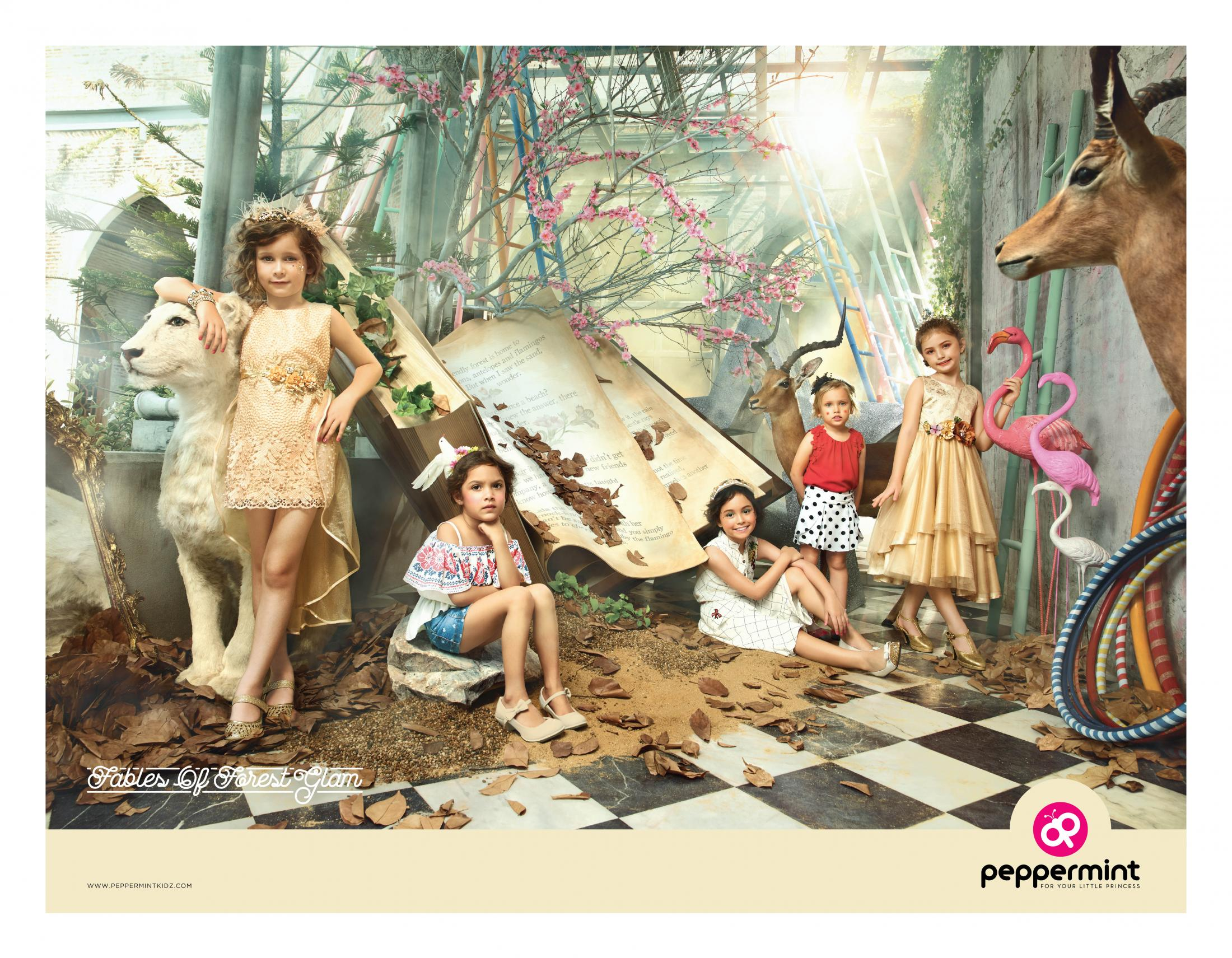 Peppermint Print Ad - Fables of Forest Glam