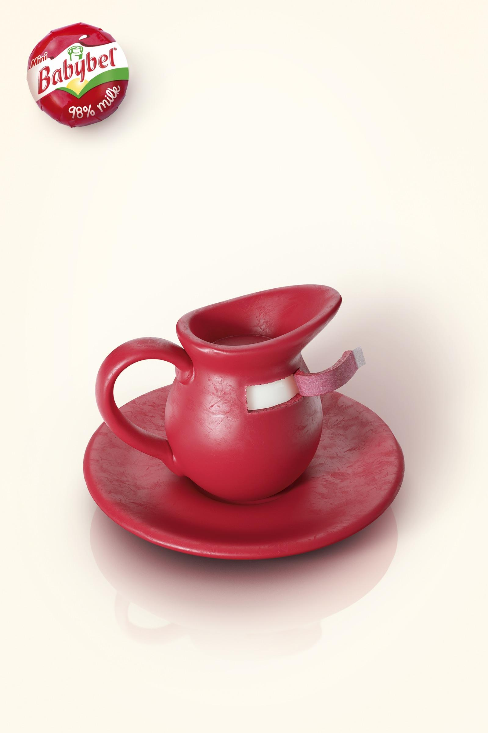Babybel Print Ad -  Pitcher